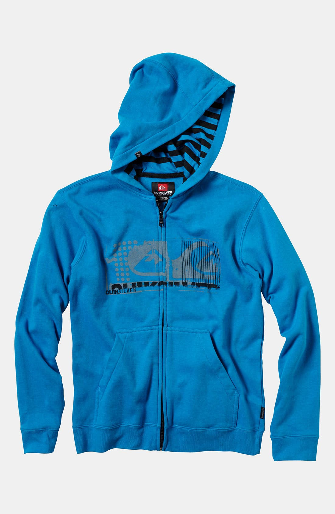 Alternate Image 1 Selected - Quiksilver 'Affected' Hoodie (Little Boys)
