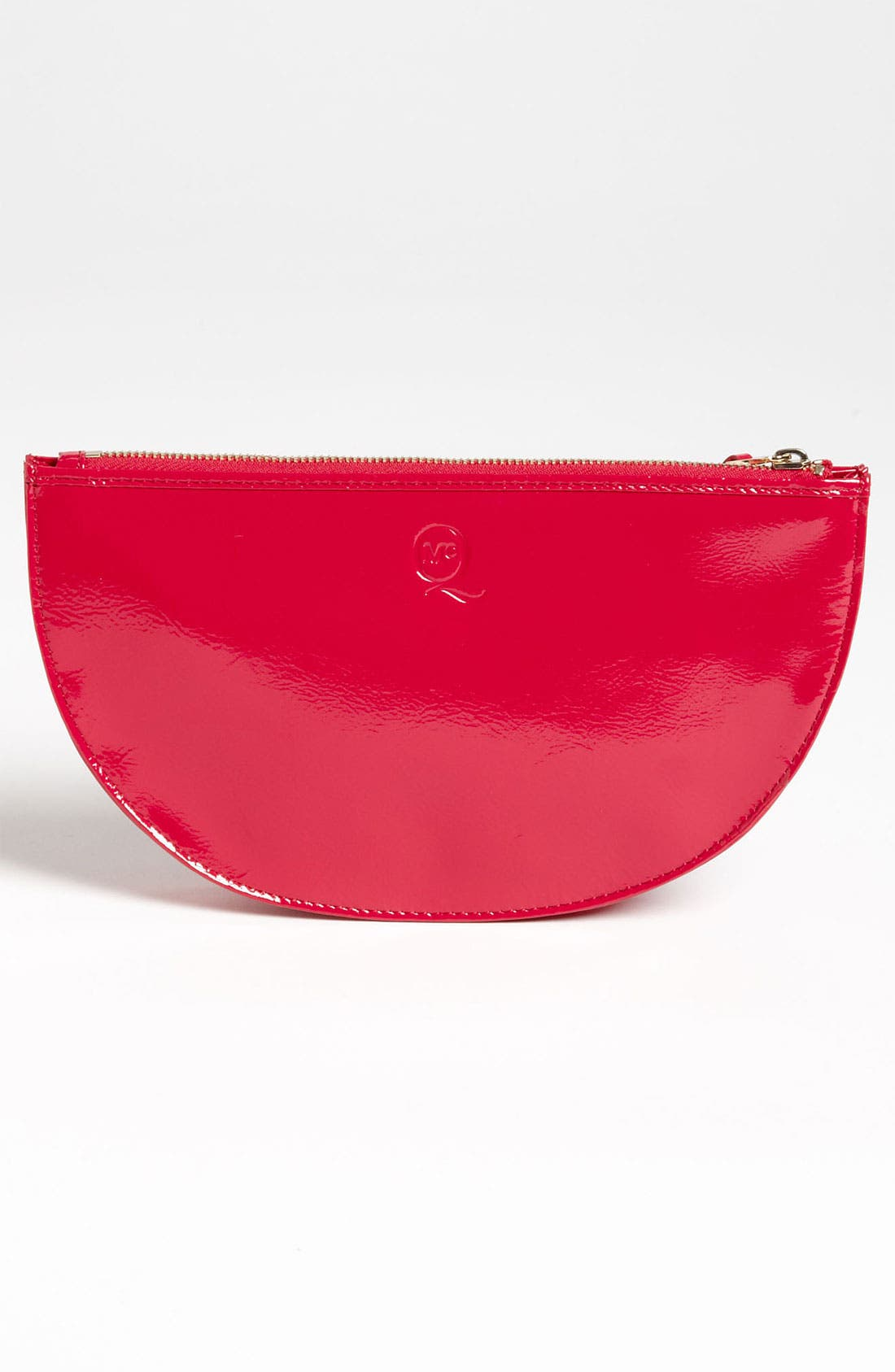 Alternate Image 4  - McQ by Alexander McQueen 'Large' Patent Leather Coin Clutch