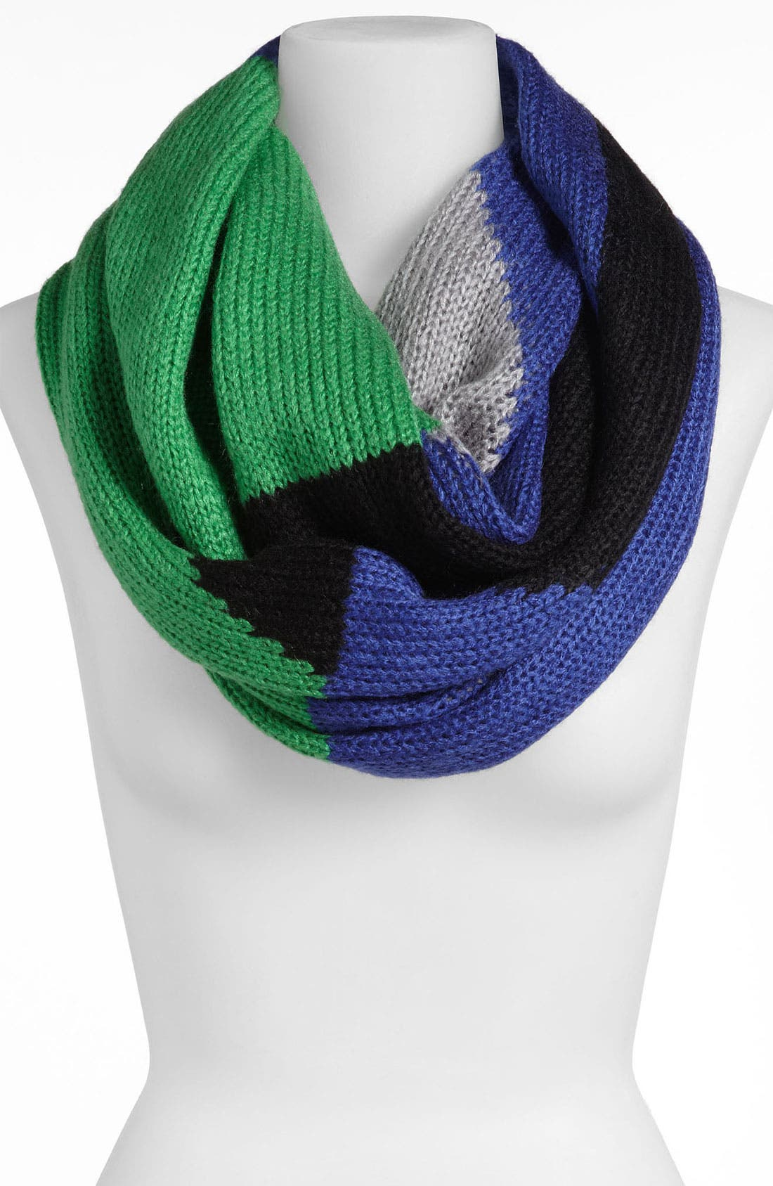 Alternate Image 1 Selected - Steve Madden 'Block Party' Infinity Scarf