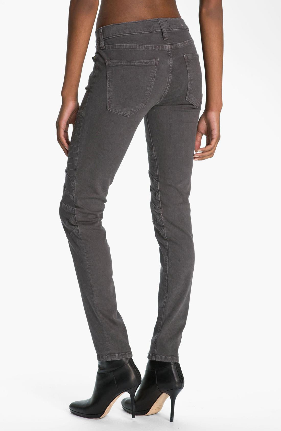 Alternate Image 2  - Current/Elliott 'The Moto' Skinny Ankle Jeans