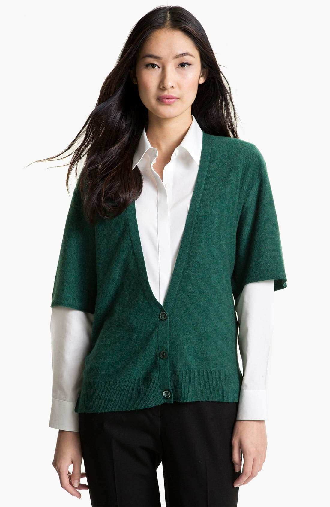 Alternate Image 1 Selected - Nordstrom Collection Cashmere Cardigan