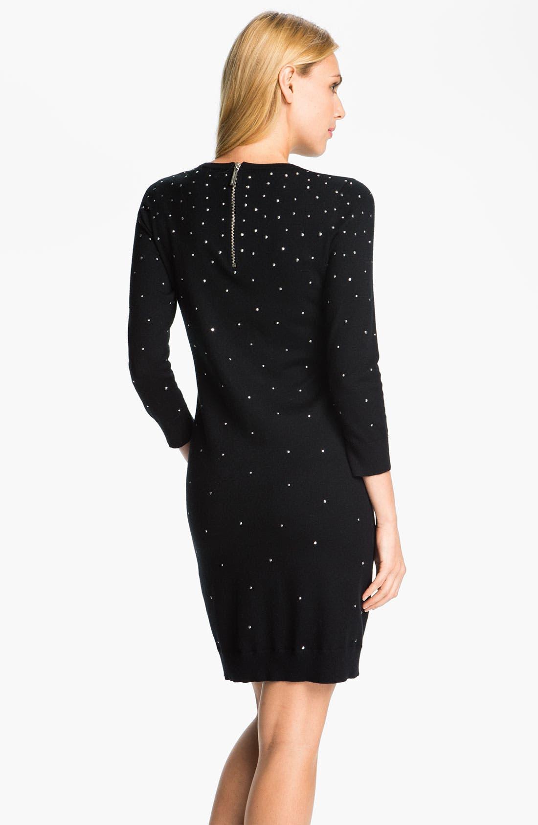 Alternate Image 2  - MICHAEL Michael Kors Studded Sweater Dress