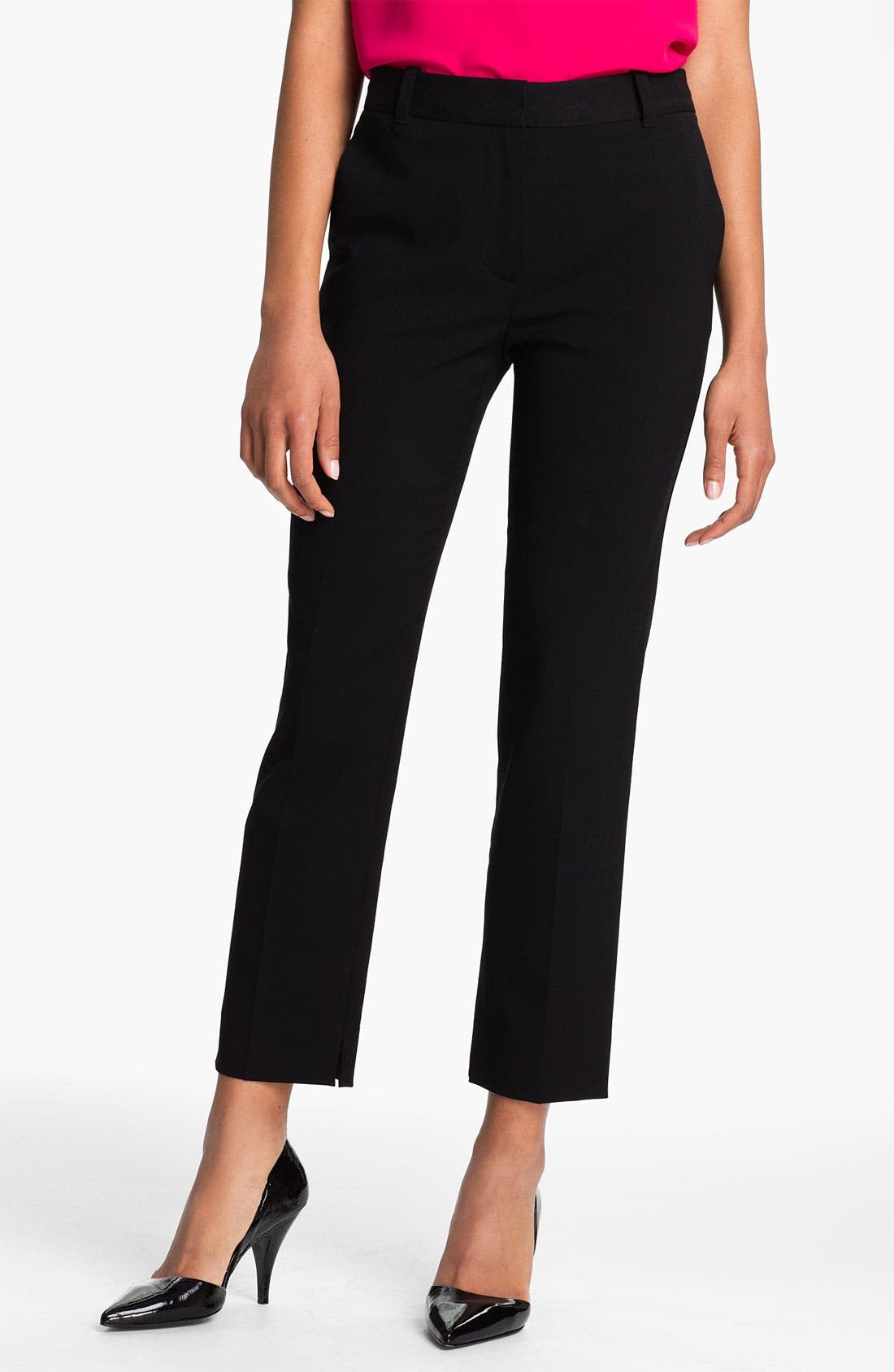 Alternate Image 1 Selected - 3.1 Phillip Lim Crop Wool Blend Trousers