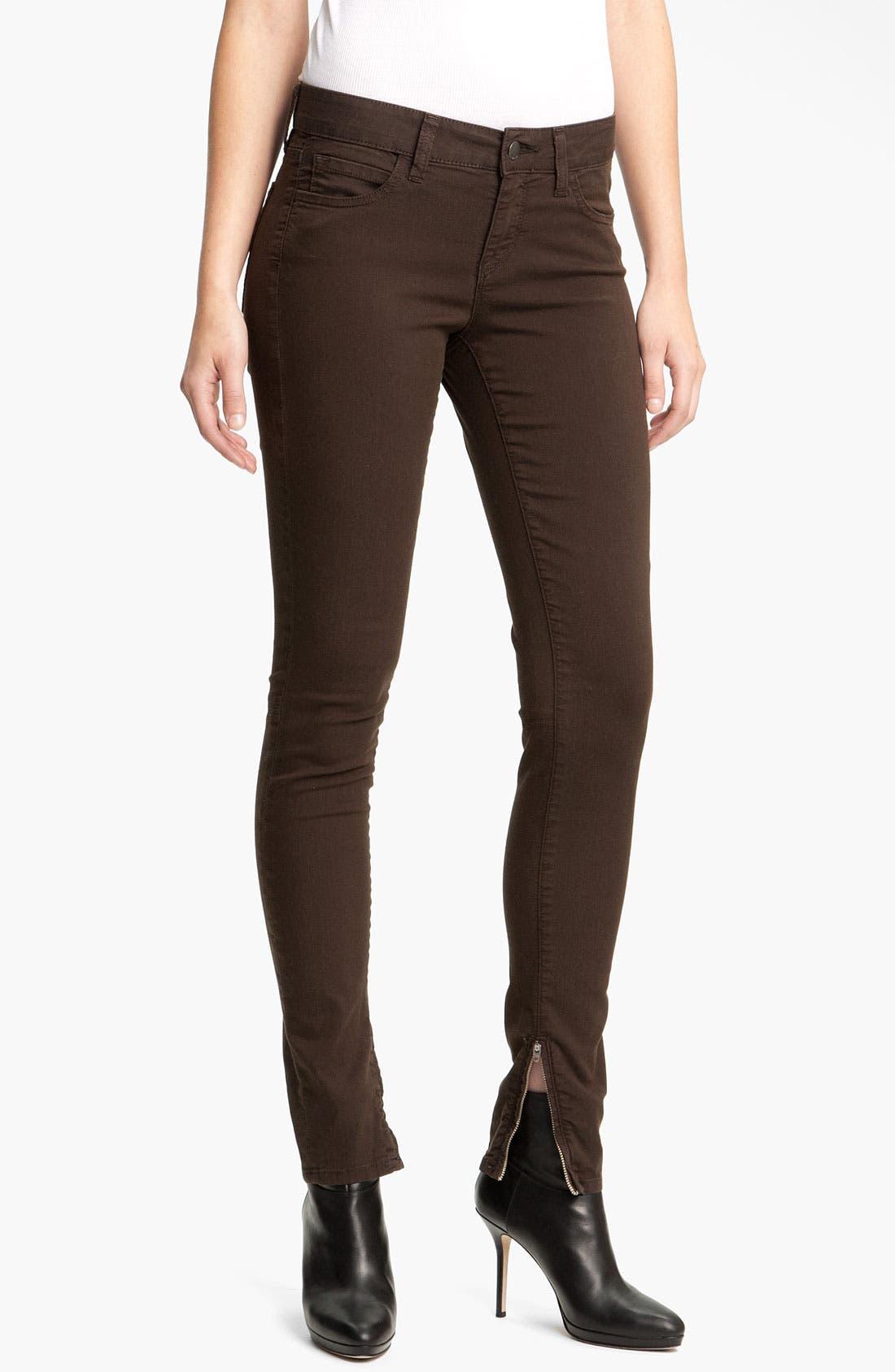 Alternate Image 1 Selected - Vince Zip Ankle Skinny Pants