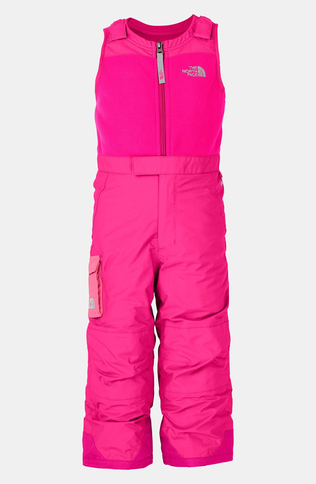 Main Image - The North Face 'Snowdrift' Insulated Bib Overalls (Toddler)