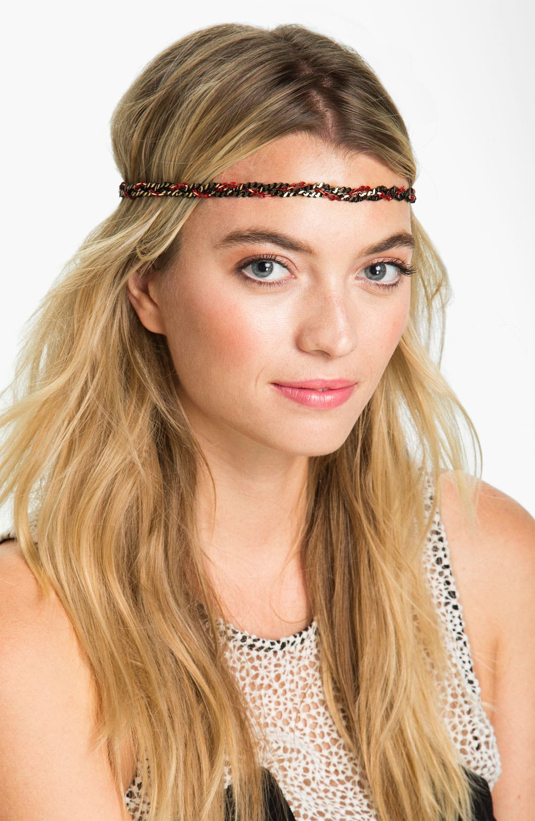 Alternate Image 1 Selected - Cara 'Twisted Vine' Head Wrap