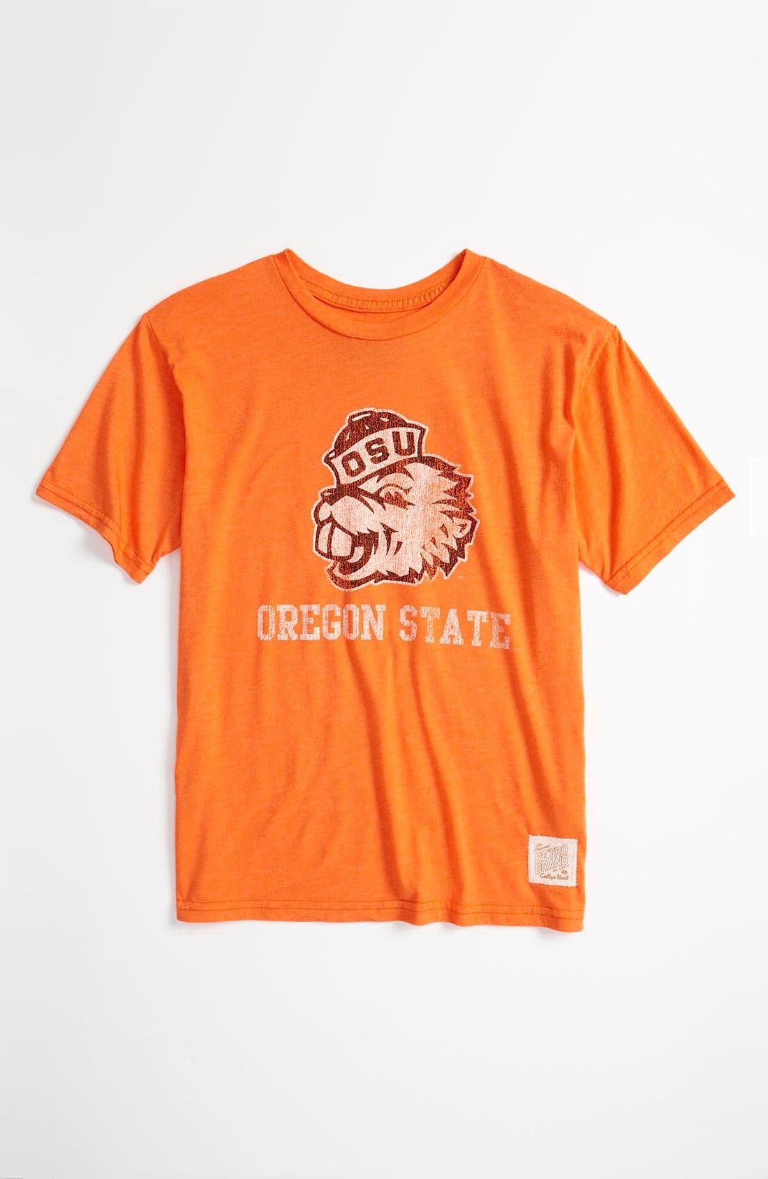 Alternate Image 1 Selected - Retro Brand 'Oregon State' T-Shirt (Big Boys)