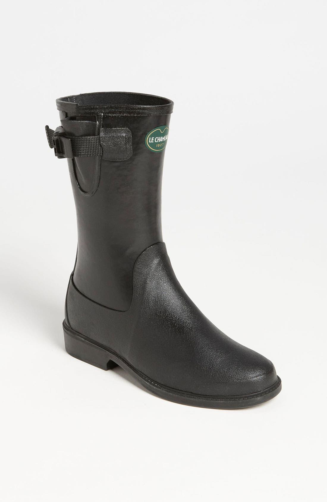 Alternate Image 1 Selected - Le Chameau 'Cavaliere Low' Rain Boot (Women)