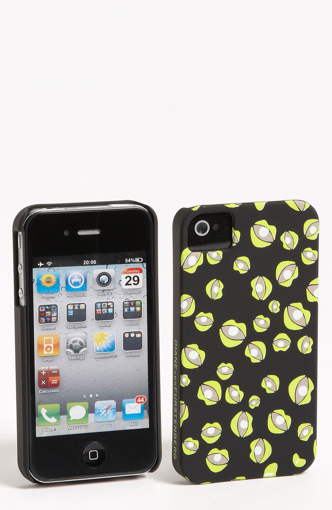 Alternate Image 1 Selected - Diane von Furstenberg iPhone 4 & 4S Case
