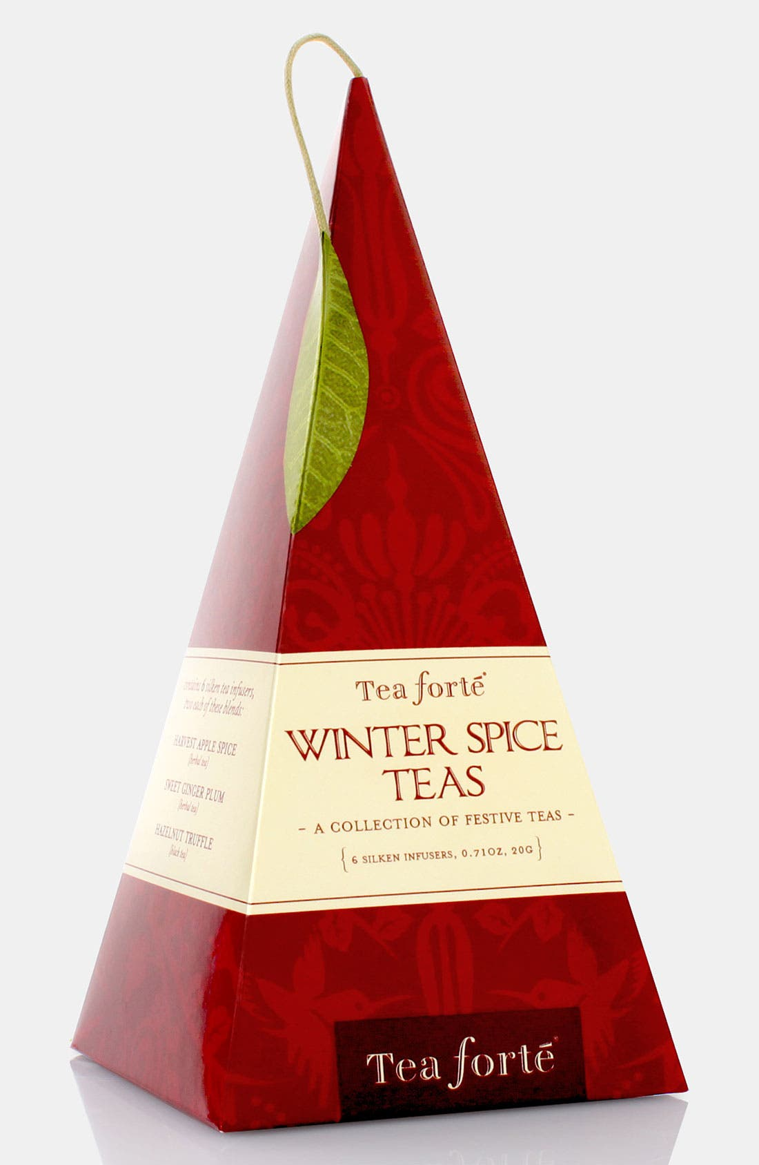 Alternate Image 1 Selected - Tea Forté 'Winter Spice - Grand Pyramid' Boxed Tea