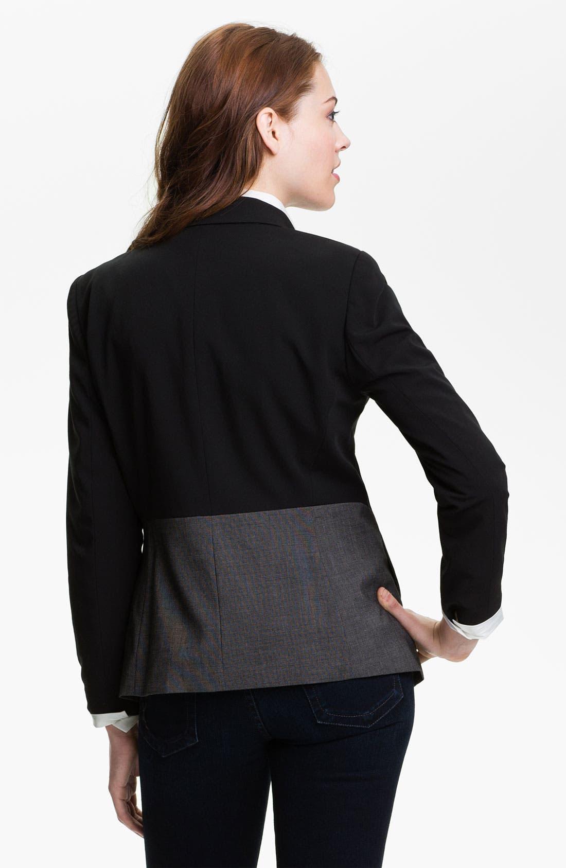 Alternate Image 2  - DKNYC Mixed Media Jacket