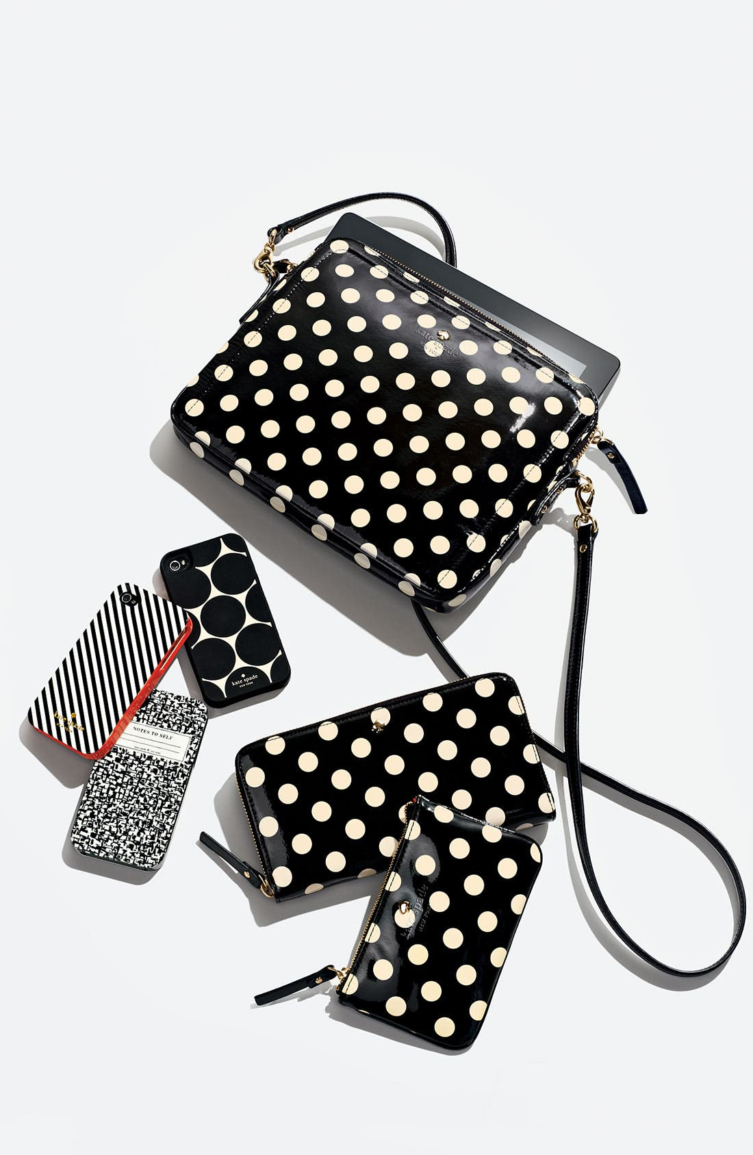 Alternate Image 2  - kate spade new york 'composition notebook' iPhone 4 & 4S case