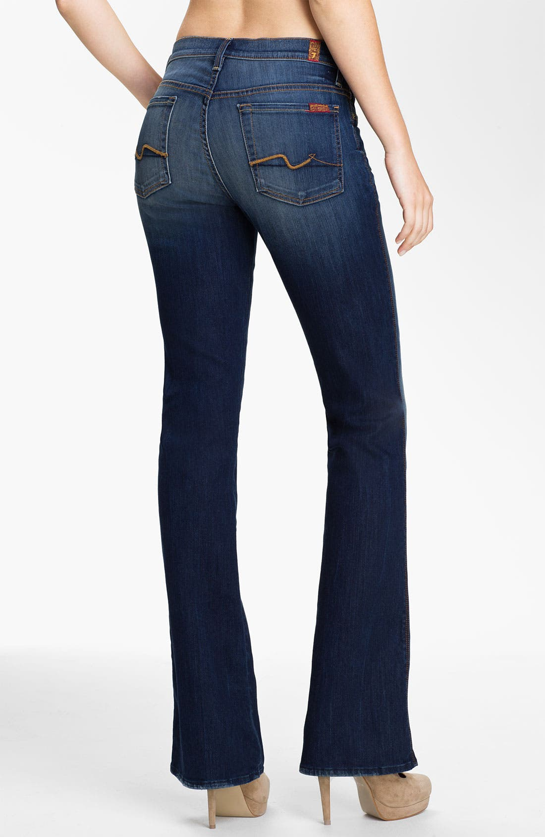 Alternate Image 2  - 7 For All Mankind® Bootcut Stretch Jeans (Aggressive Siren)