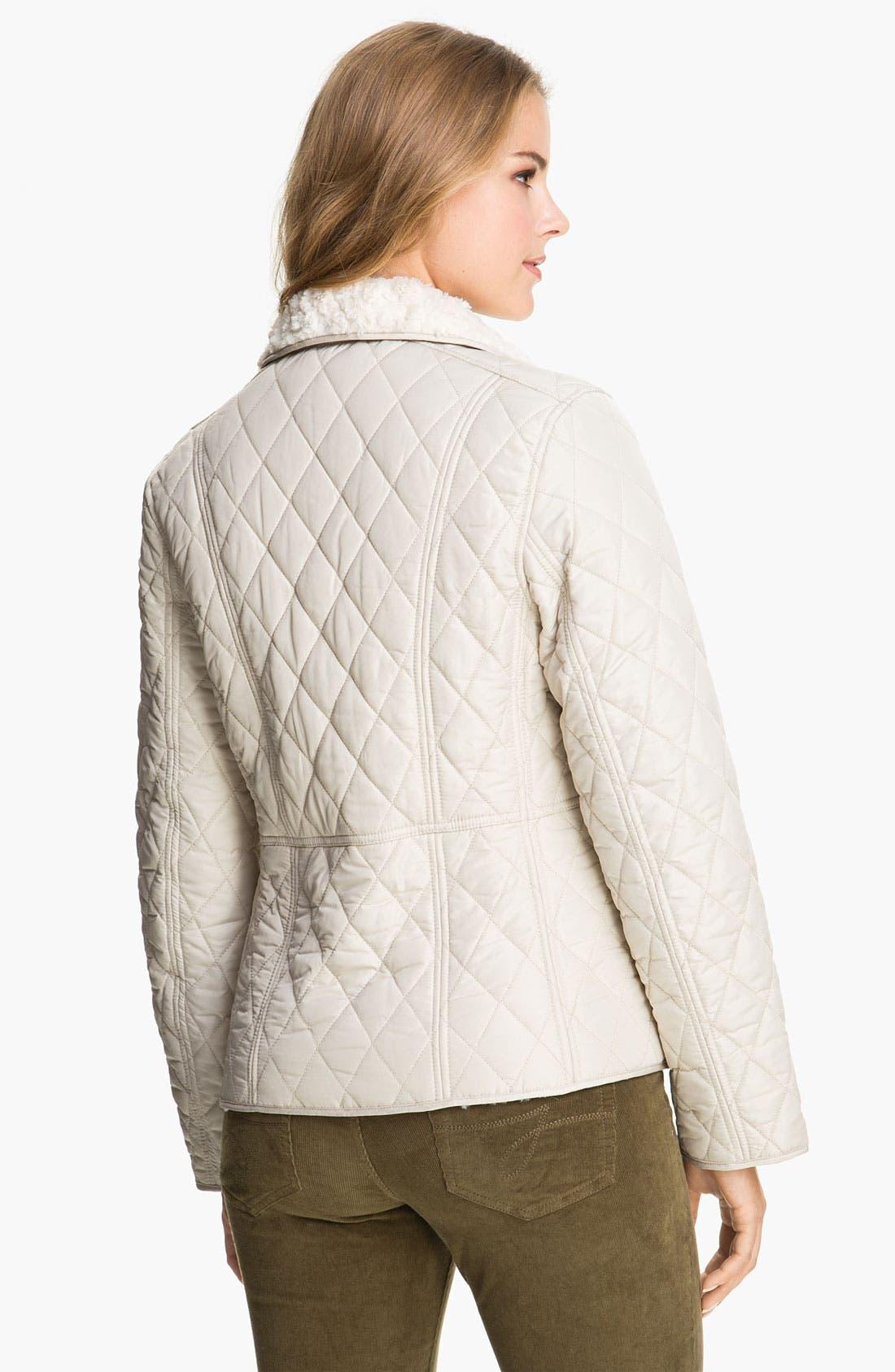 Alternate Image 2  - Weatherproof® Faux Fur Lined Barn Jacket (Online Exclusive)
