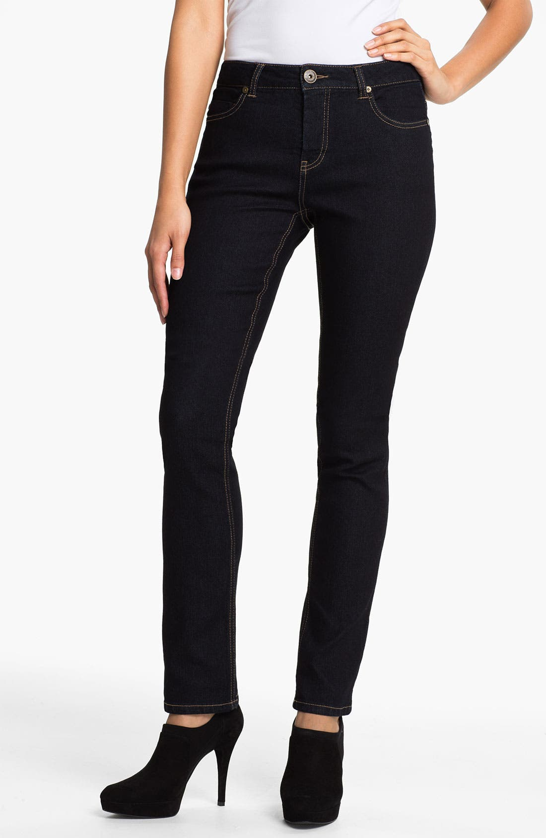 Main Image - Liverpool Jeans Company 'Sadie' Straight Leg Supersoft Stretch Jeans