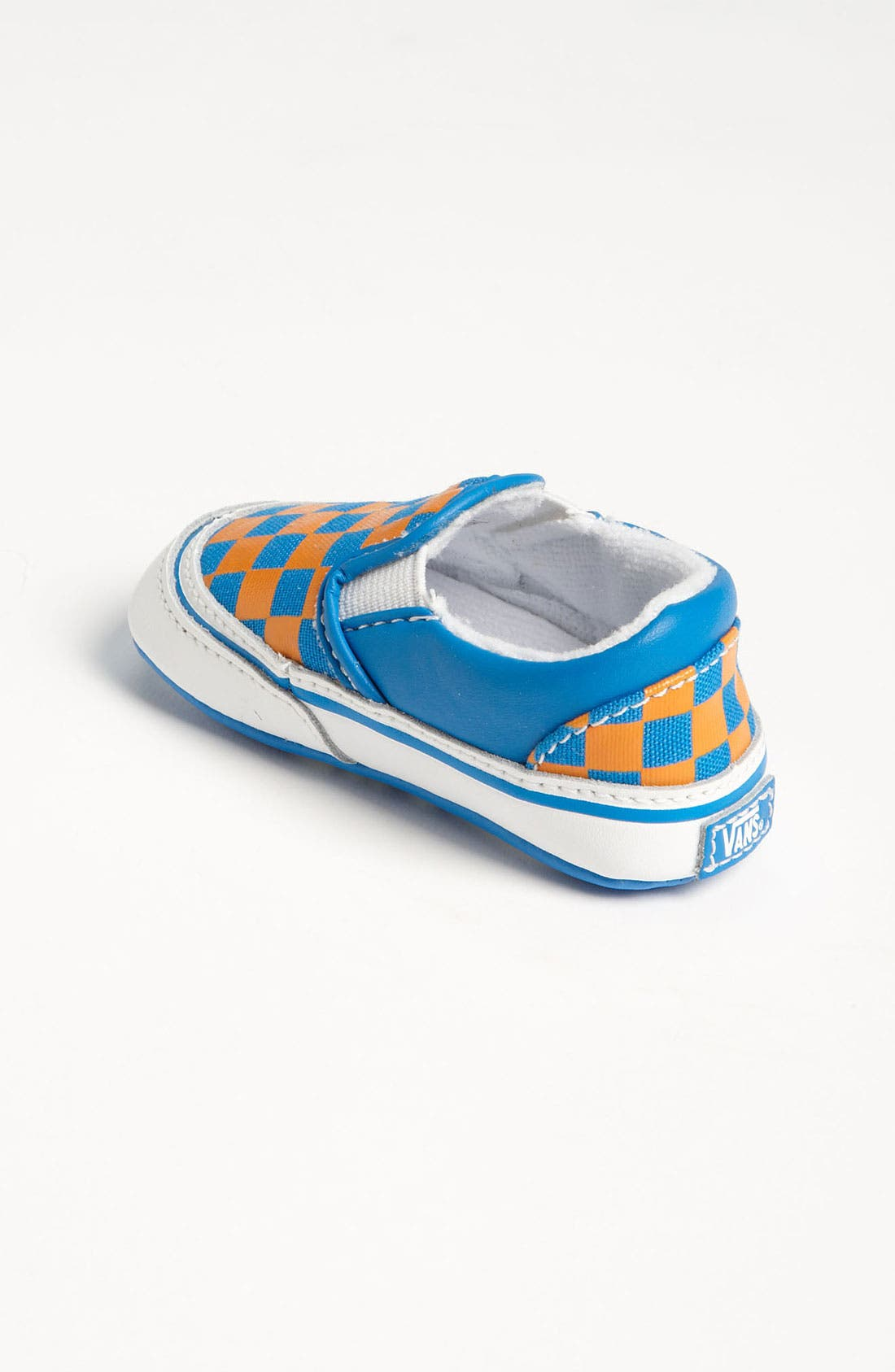 Alternate Image 2  - Vans 'Classic - Checker' Crib Shoe (Infant)