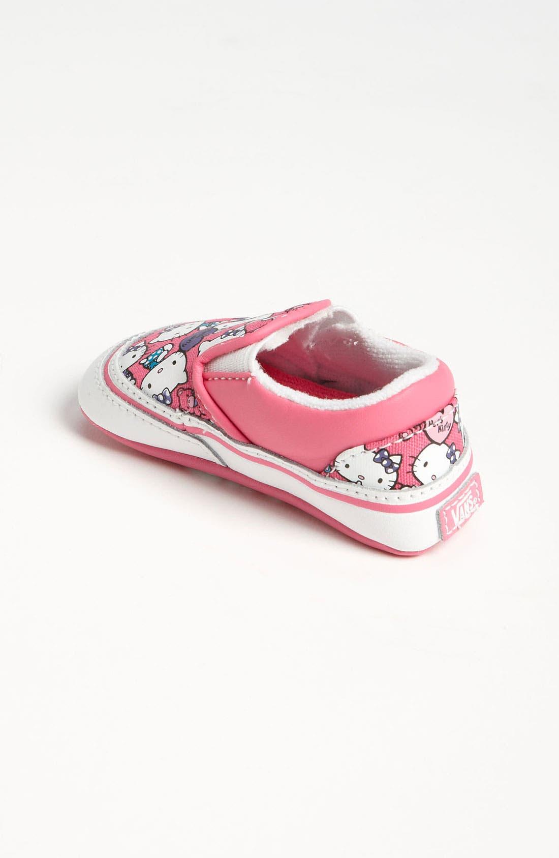 Alternate Image 2  - Vans 'Classic - Hello Kitty®' Crib Shoe (Infant)