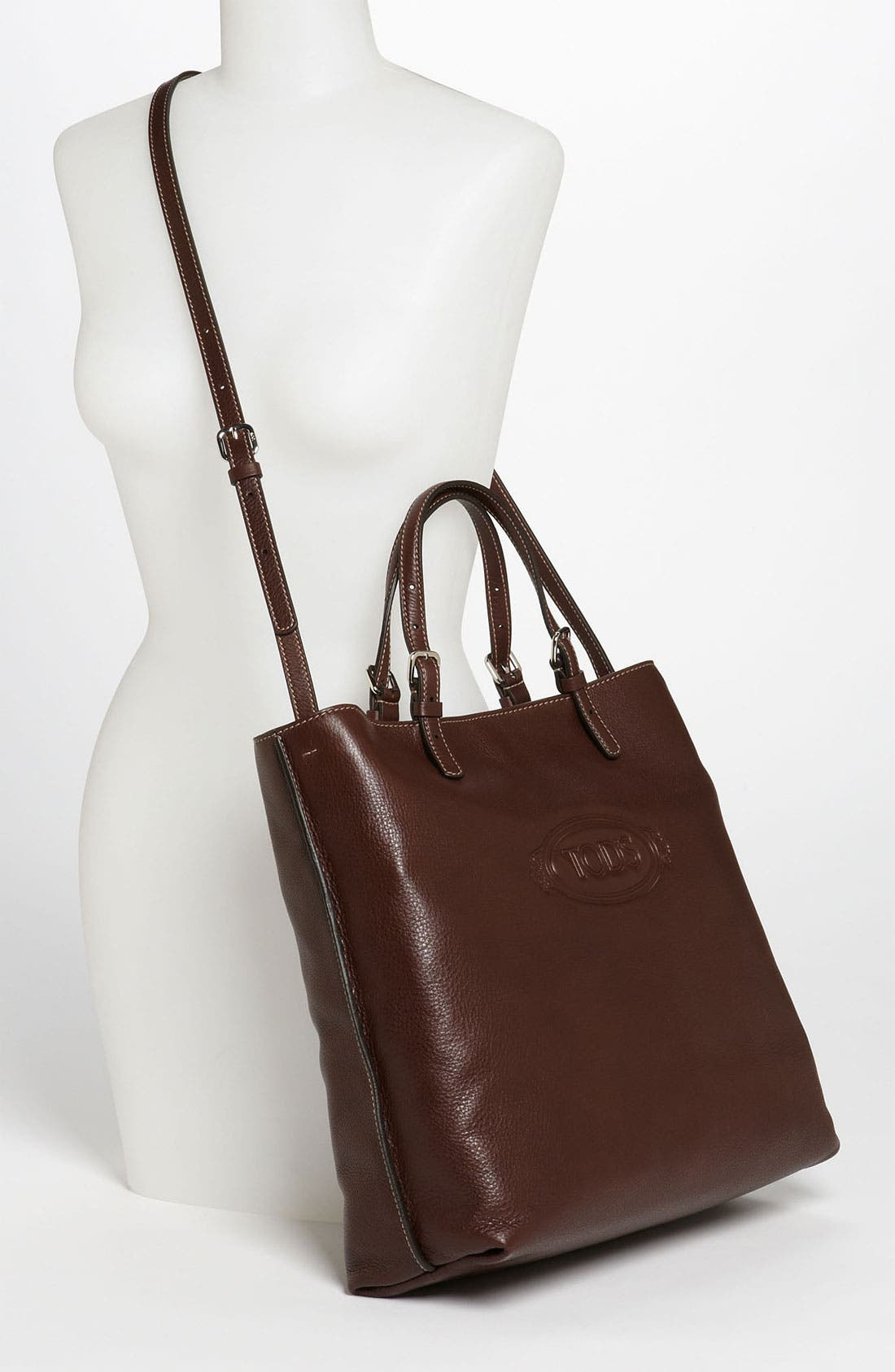 Alternate Image 2  - Tod's 'Logo - Media' Leather Shopper