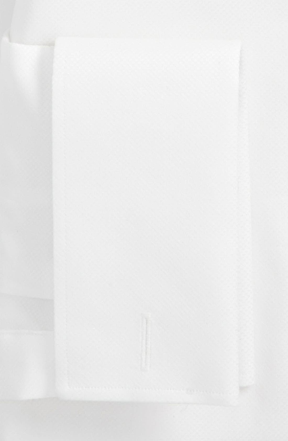 Alternate Image 2  - John W. Nordstrom® Trim Fit Tuxedo Shirt