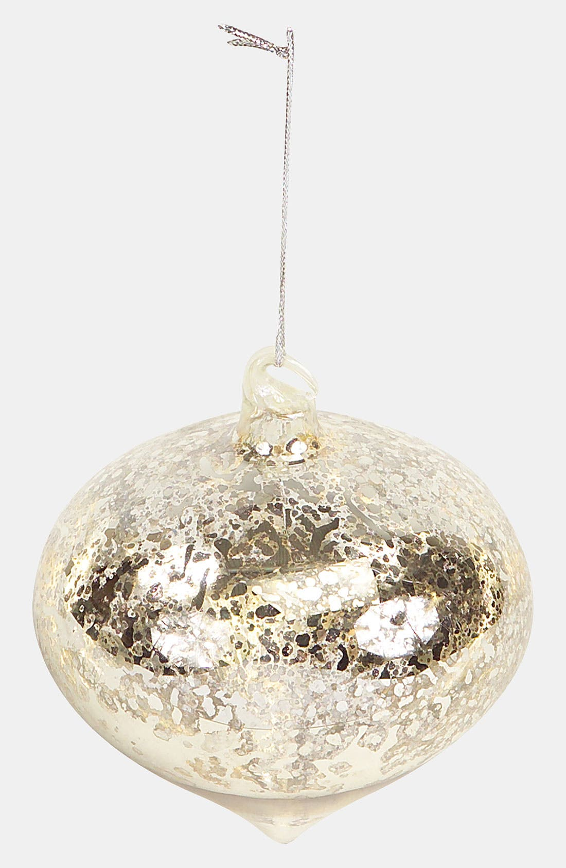 Main Image - Melrose Gifts 'Shiny Antiqued Silver Onion' Ornament