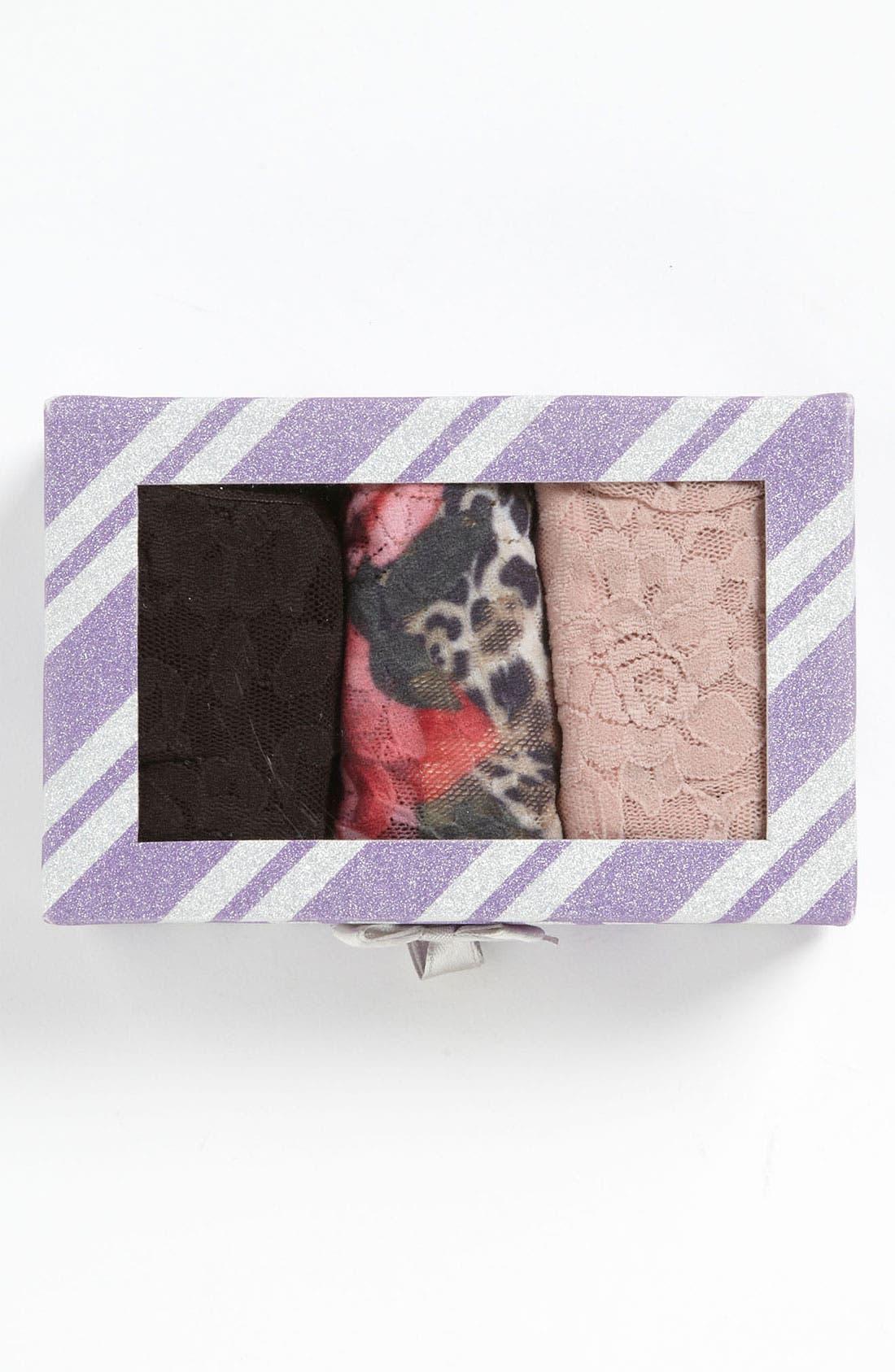 Main Image - Hanky Panky Regular Rise Thong (3-Pack) ($63 Value)