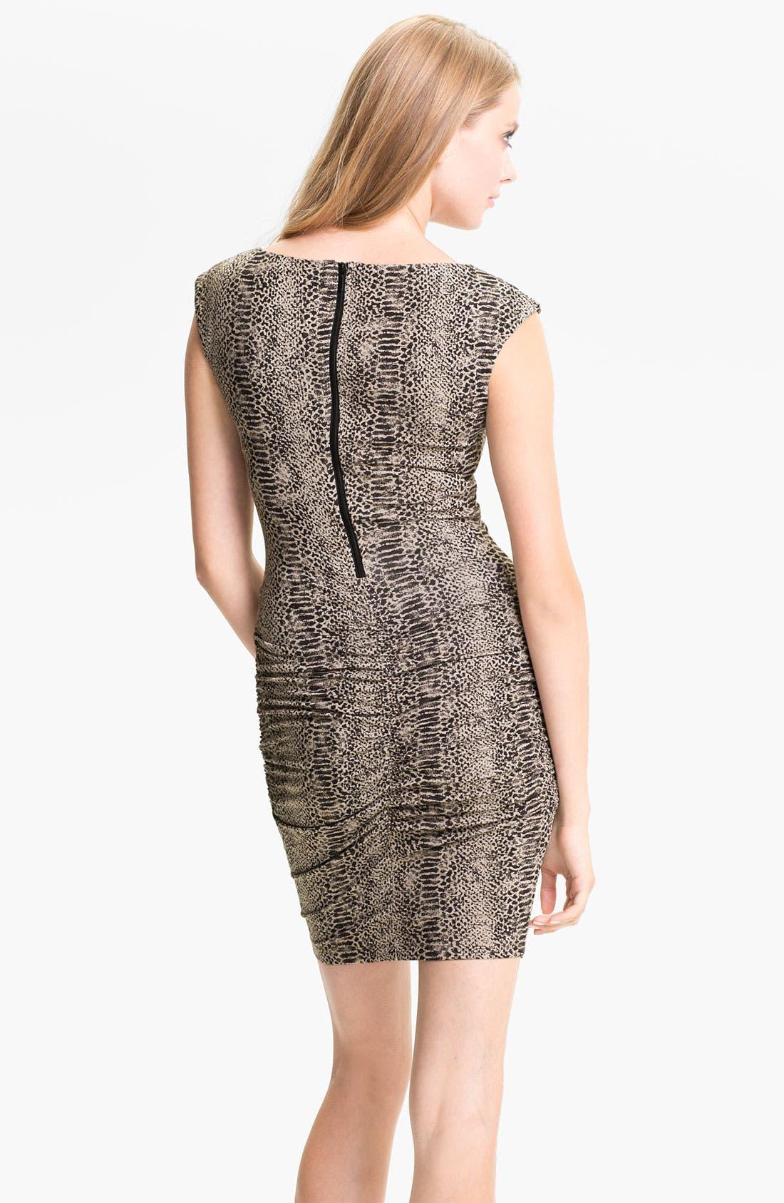 Alternate Image 2  - Tart 'Elena' Reptile Print Sheath Dress