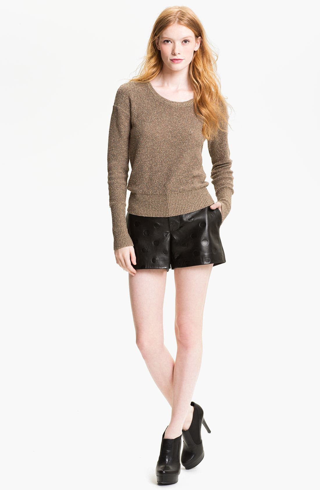 Alternate Image 4  - MARC BY MARC JACOBS 'Gia' Dot Leather Shorts