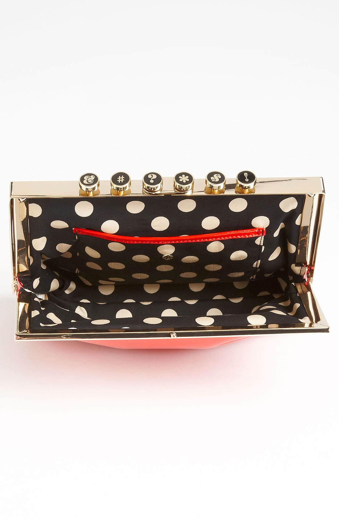 Alternate Image 3  - kate spade new york 'pardon my french - typewriter keys' clutch