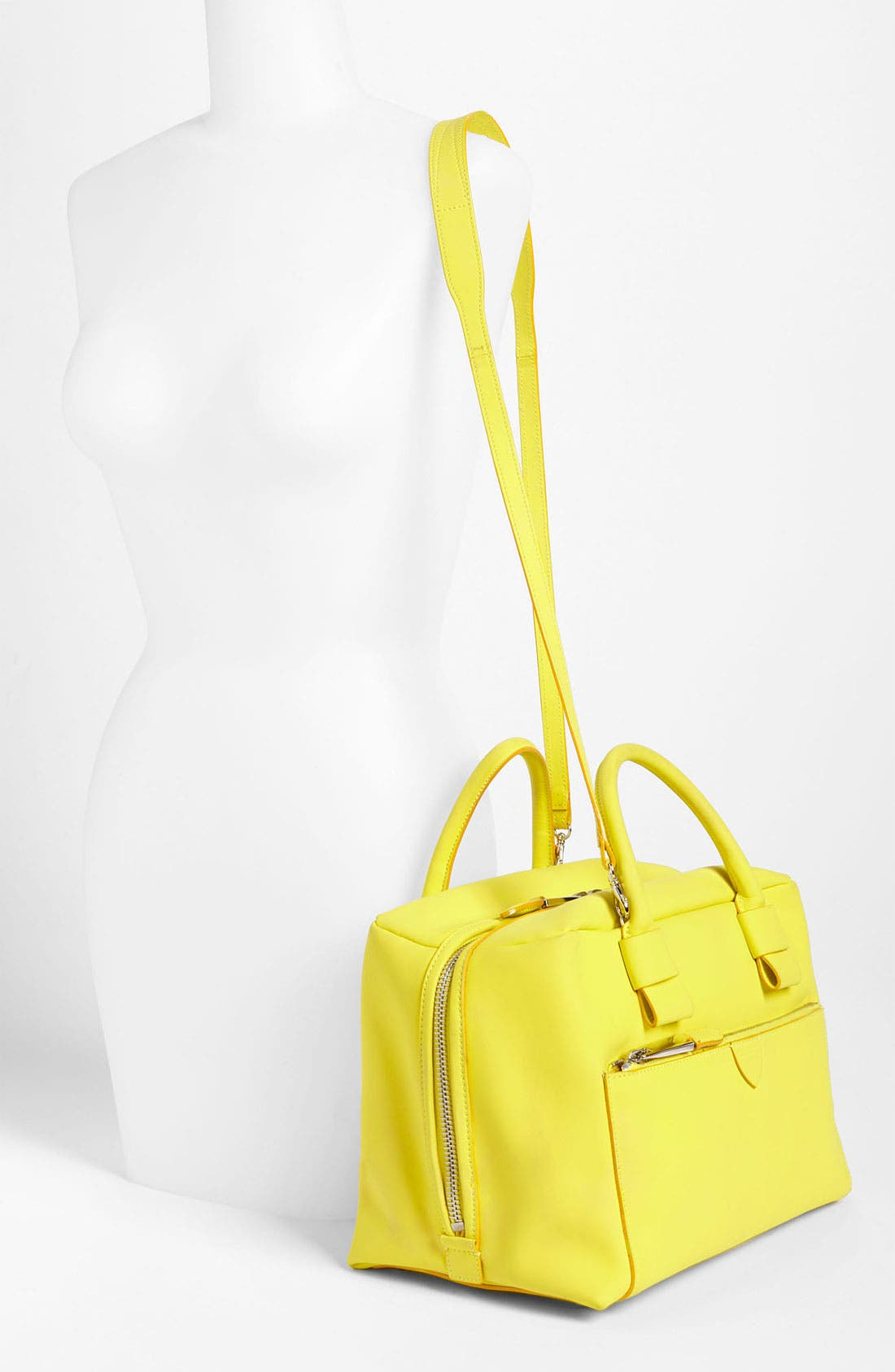 Alternate Image 2  - MARC JACOBS 'Small Antonia' Rubberized Leather Satchel