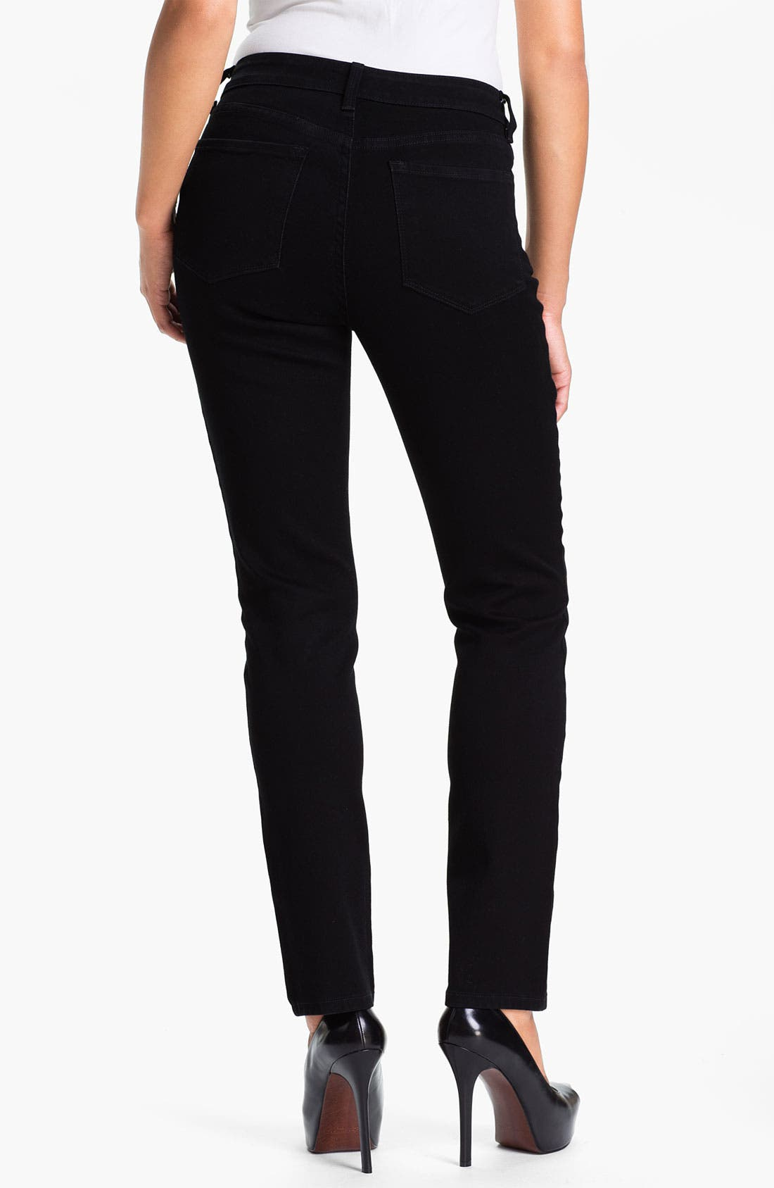 Alternate Image 2  - NYDJ 'Sheri' Sparkle Skinny Stretch Jeans