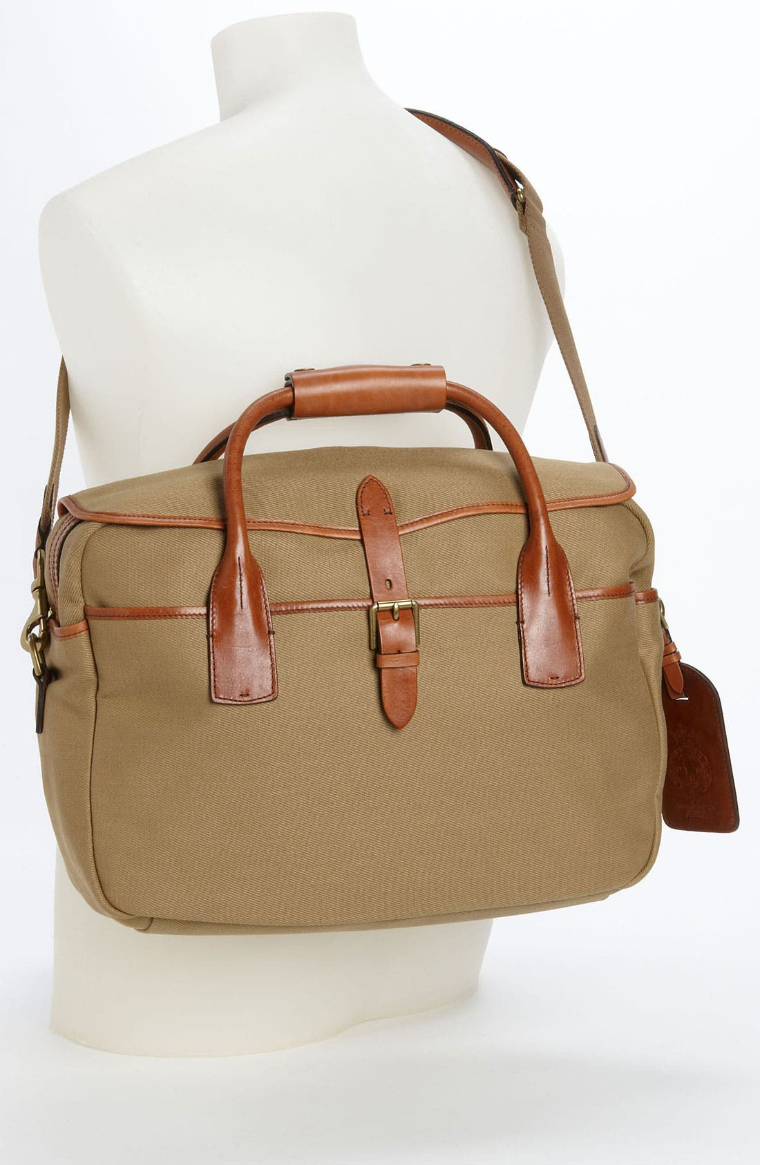 Alternate Image 4  - Polo Ralph Lauren Canvas Commuter Bag