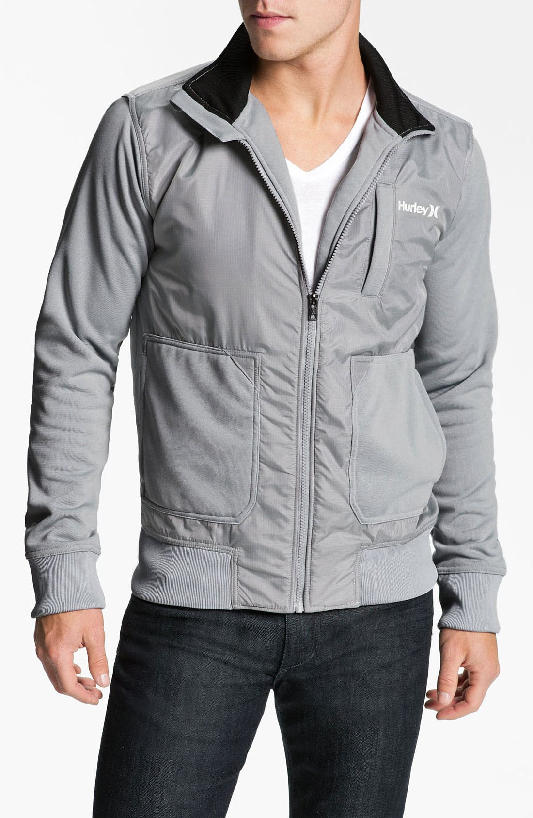 Main Image - Hurley 'Attitude' Track Jacket