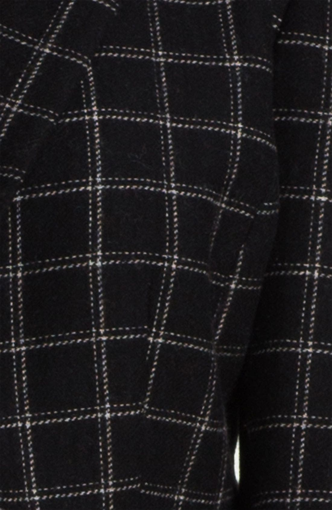 Alternate Image 3  - Max & Mia Plaid Peplum Jacket