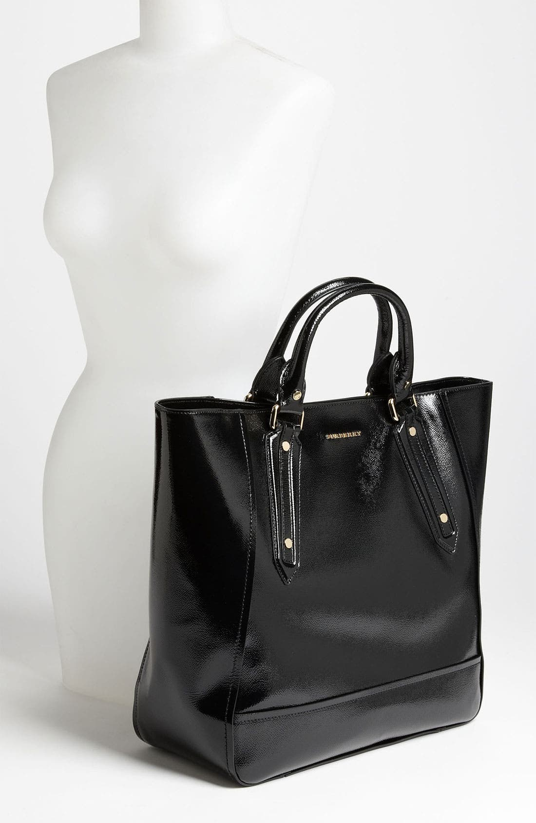 Alternate Image 2  - Burberry Patent Leather Tote