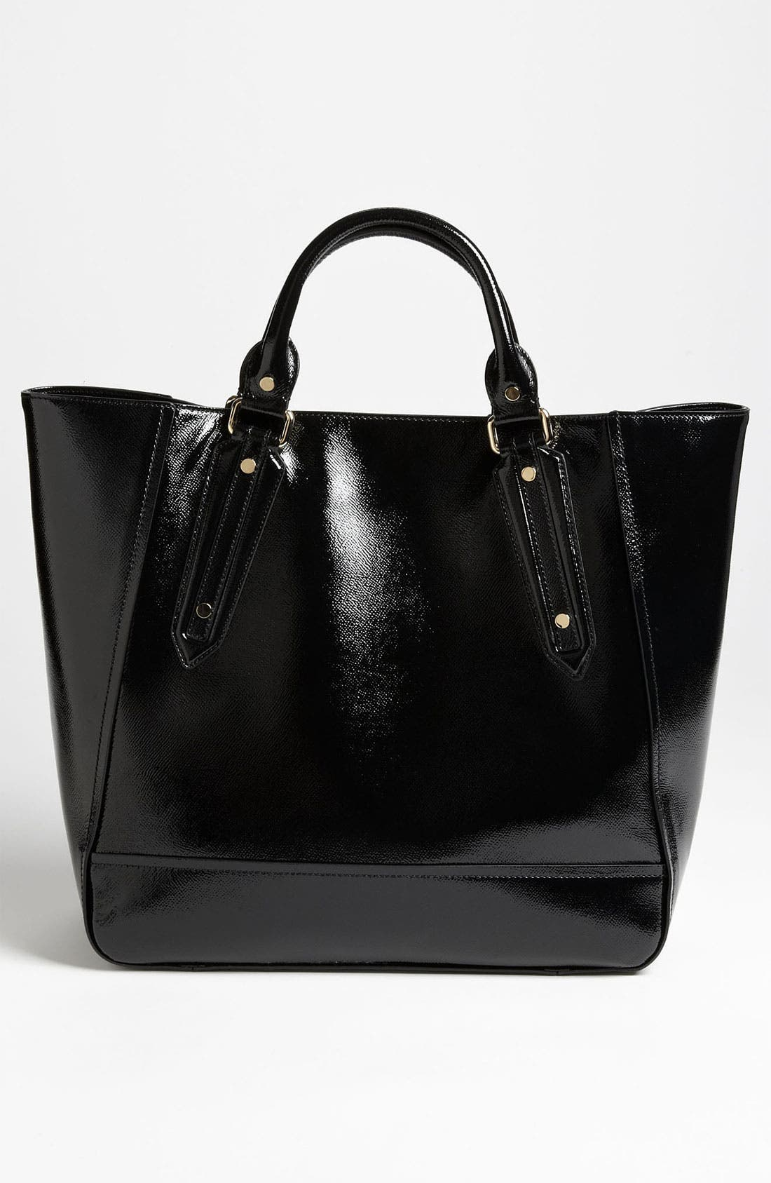 Alternate Image 4  - Burberry Patent Leather Tote