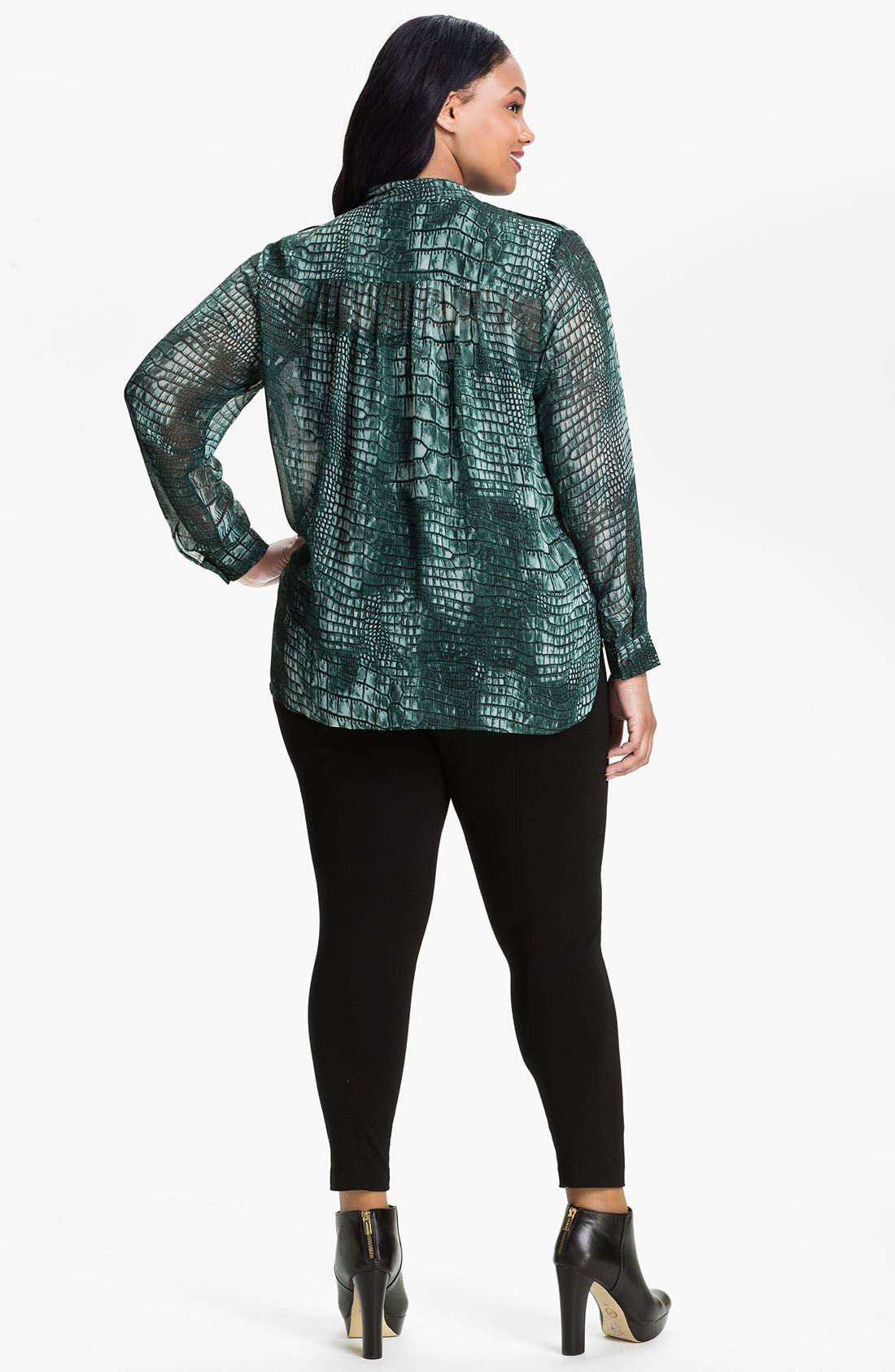 Alternate Image 2  - Kenneth Cole New York 'Alyssa' Shirt (Plus)