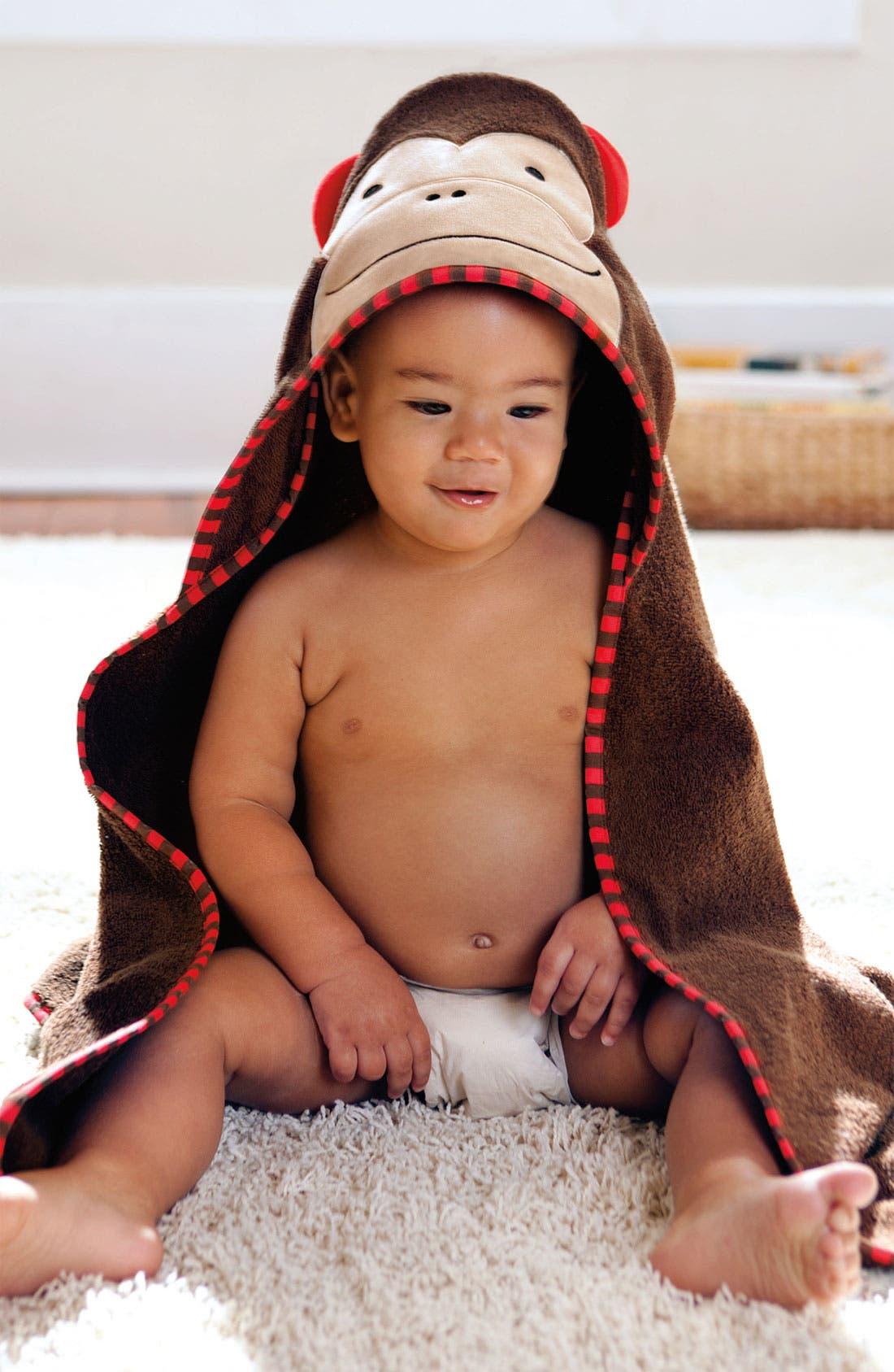 Alternate Image 2  - Skip Hop 'Zoo' Hooded Towel (Baby)