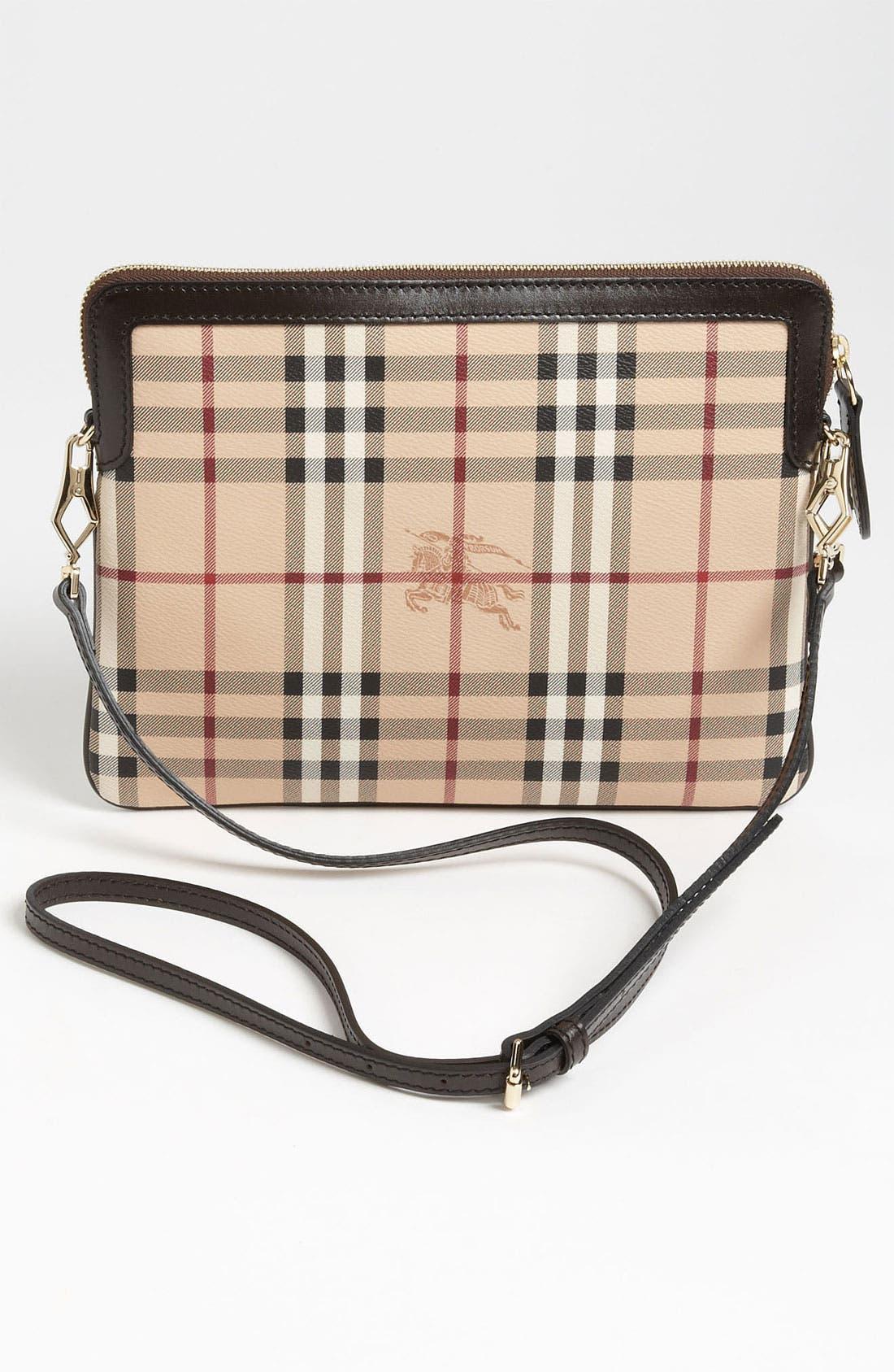 Alternate Image 4  - Burberry 'Haymarket Check' iPad Crossbody Bag