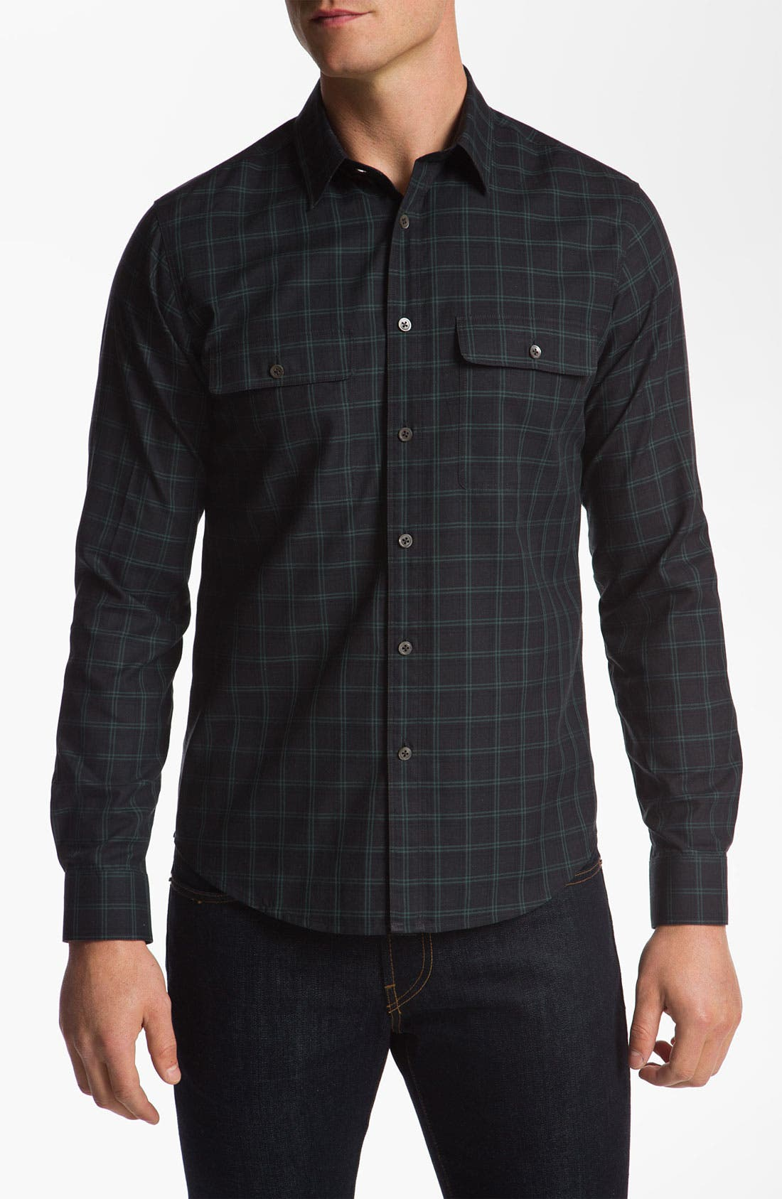 Alternate Image 1 Selected - Theory 'Morvan' Woven Shirt