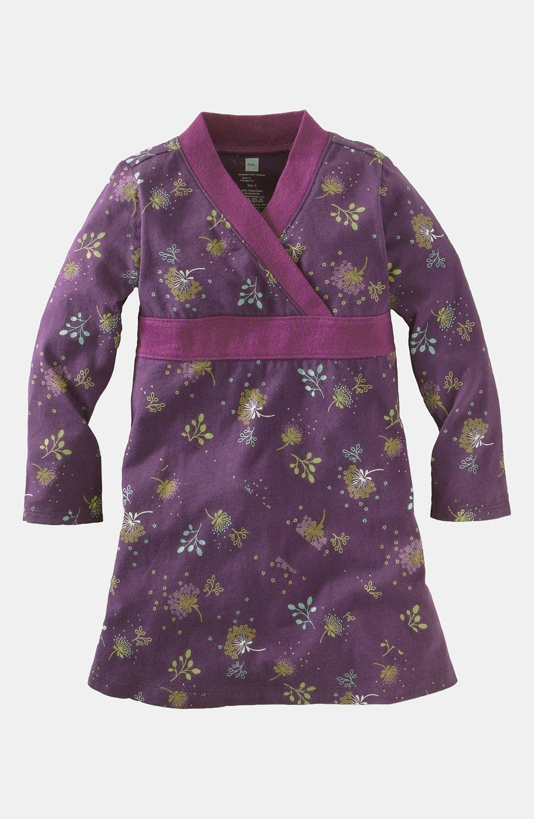 Alternate Image 1 Selected - Tea Collection 'Juniper' Wrap Dress (Infant)