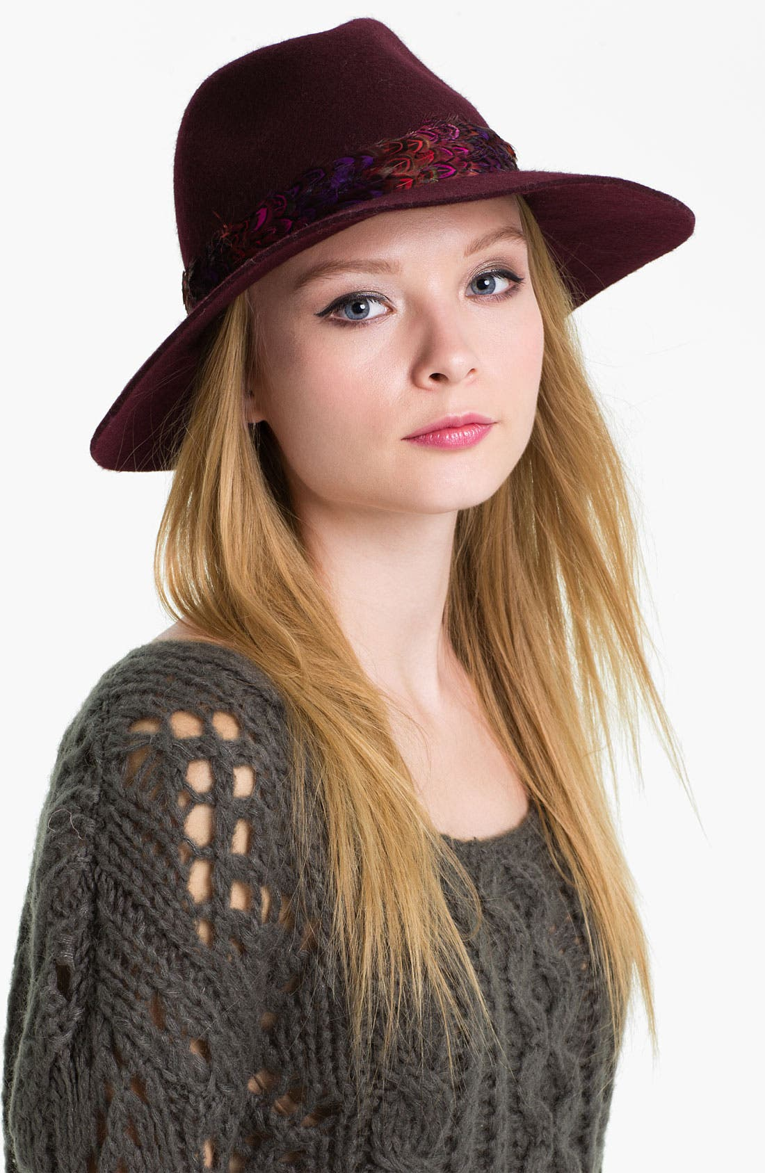 Alternate Image 1 Selected - Juicy Couture 'Floppy' Wool Fedora