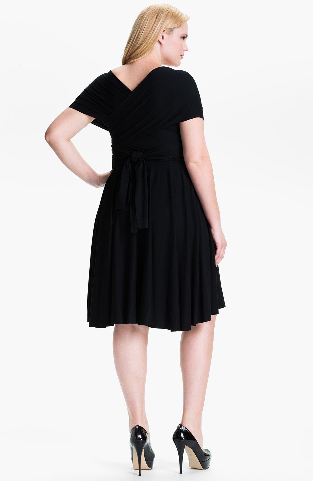 Alternate Image 2  - Monif C 'Marilyn' Convertible Jersey Dress (Plus)