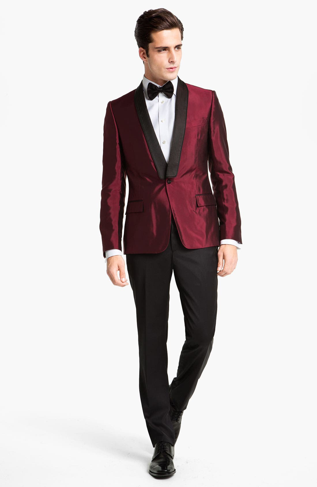 Alternate Image 4  - Versace Trim Fit Dinner Jacket
