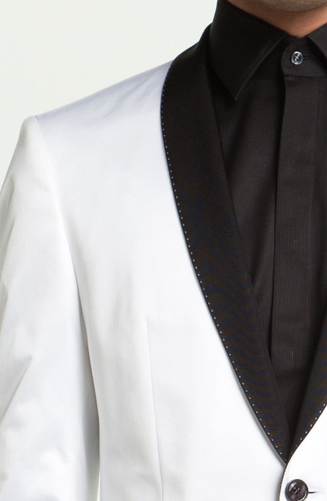 Alternate Image 3  - BOSS Black 'Hyatt' Shawl Collar Dinner Jacket