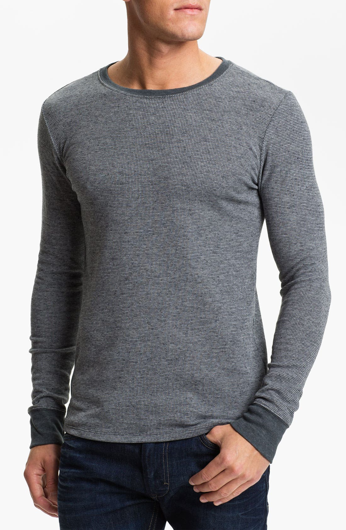 Main Image - Threads for Thought Crewneck Thermal Shirt