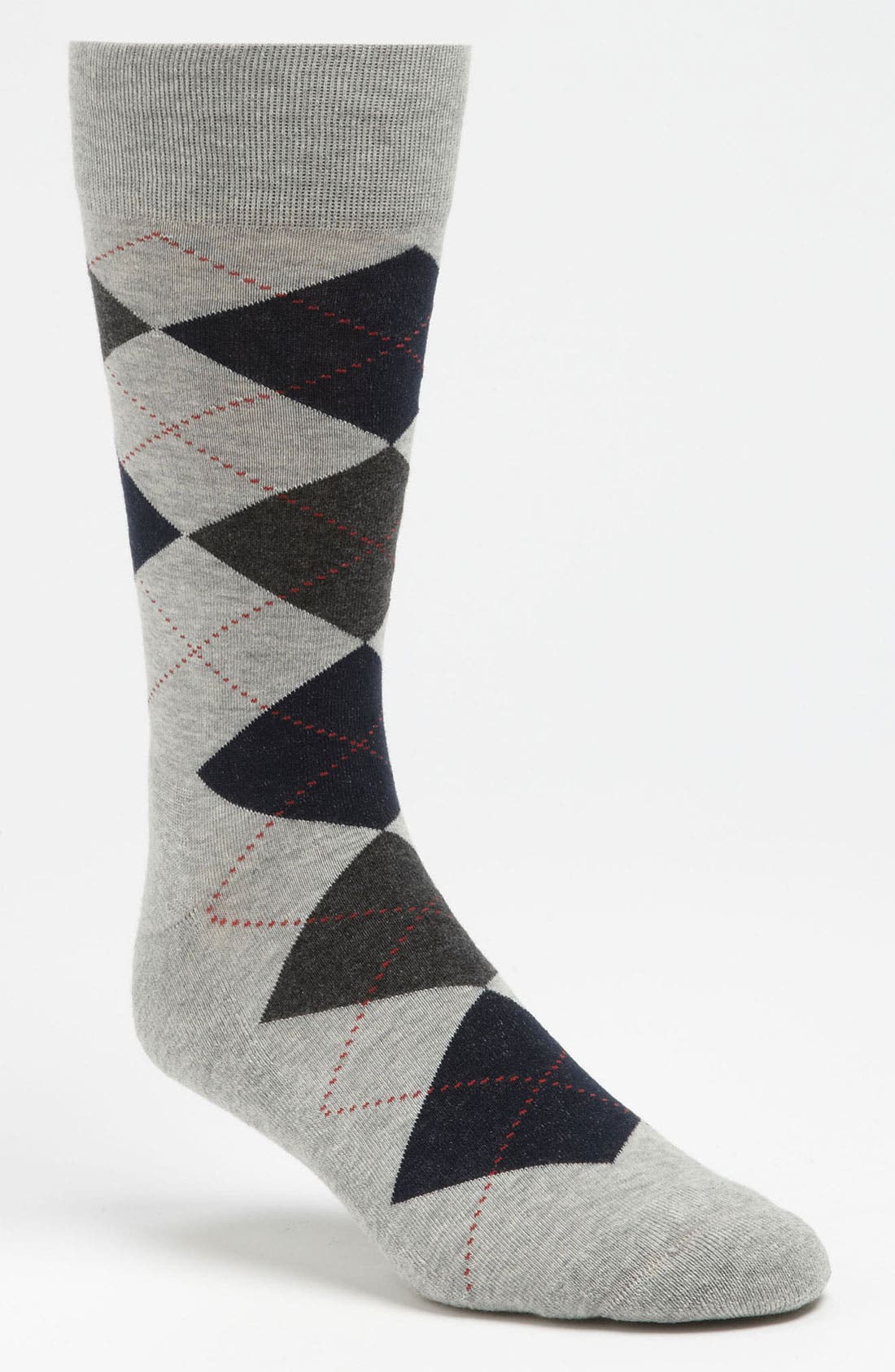 Alternate Image 1 Selected - Nordstrom Cushioned Argyle Socks