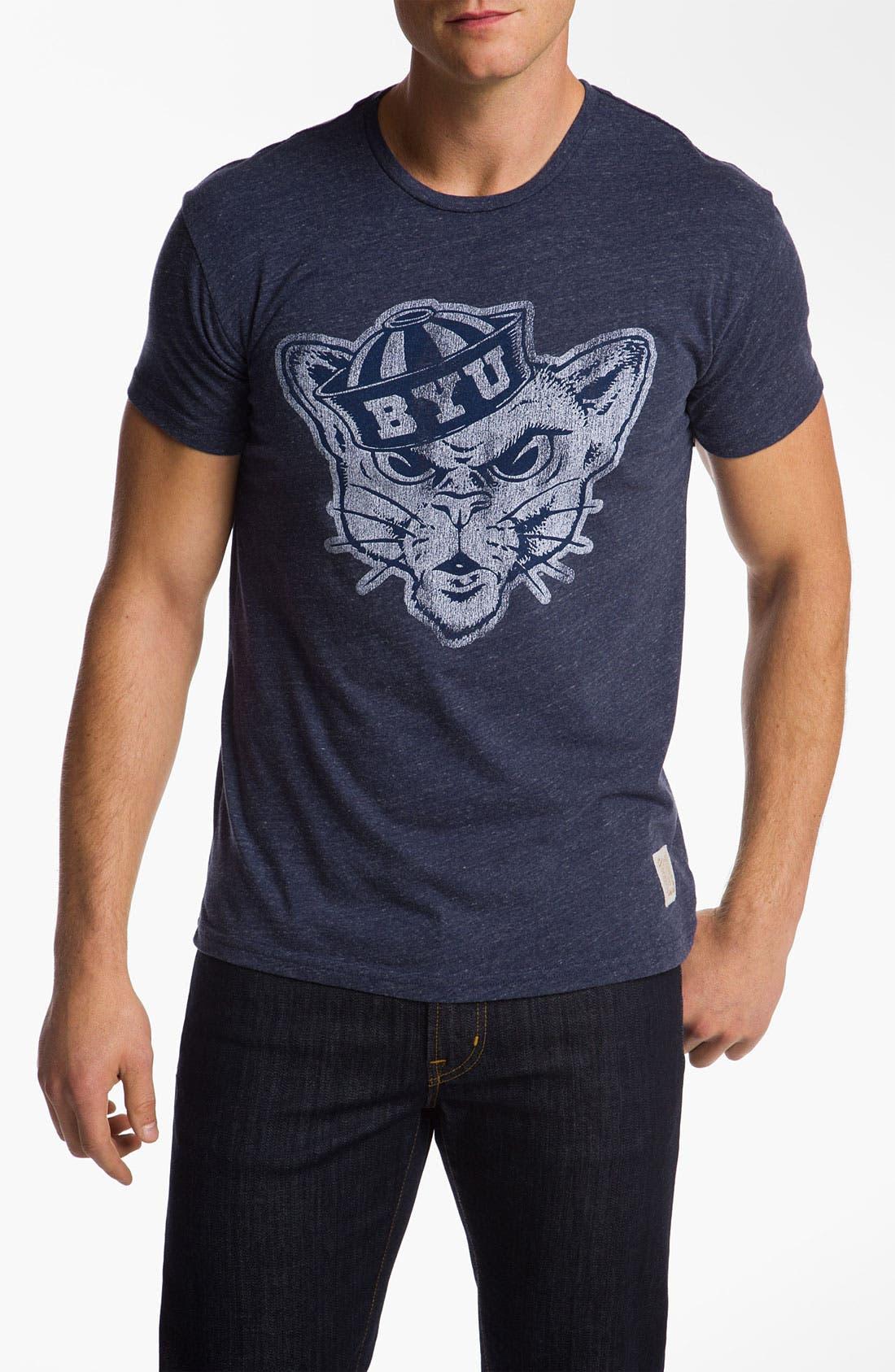 Main Image - The Original Retro Brand 'Brigham Young University' T-Shirt
