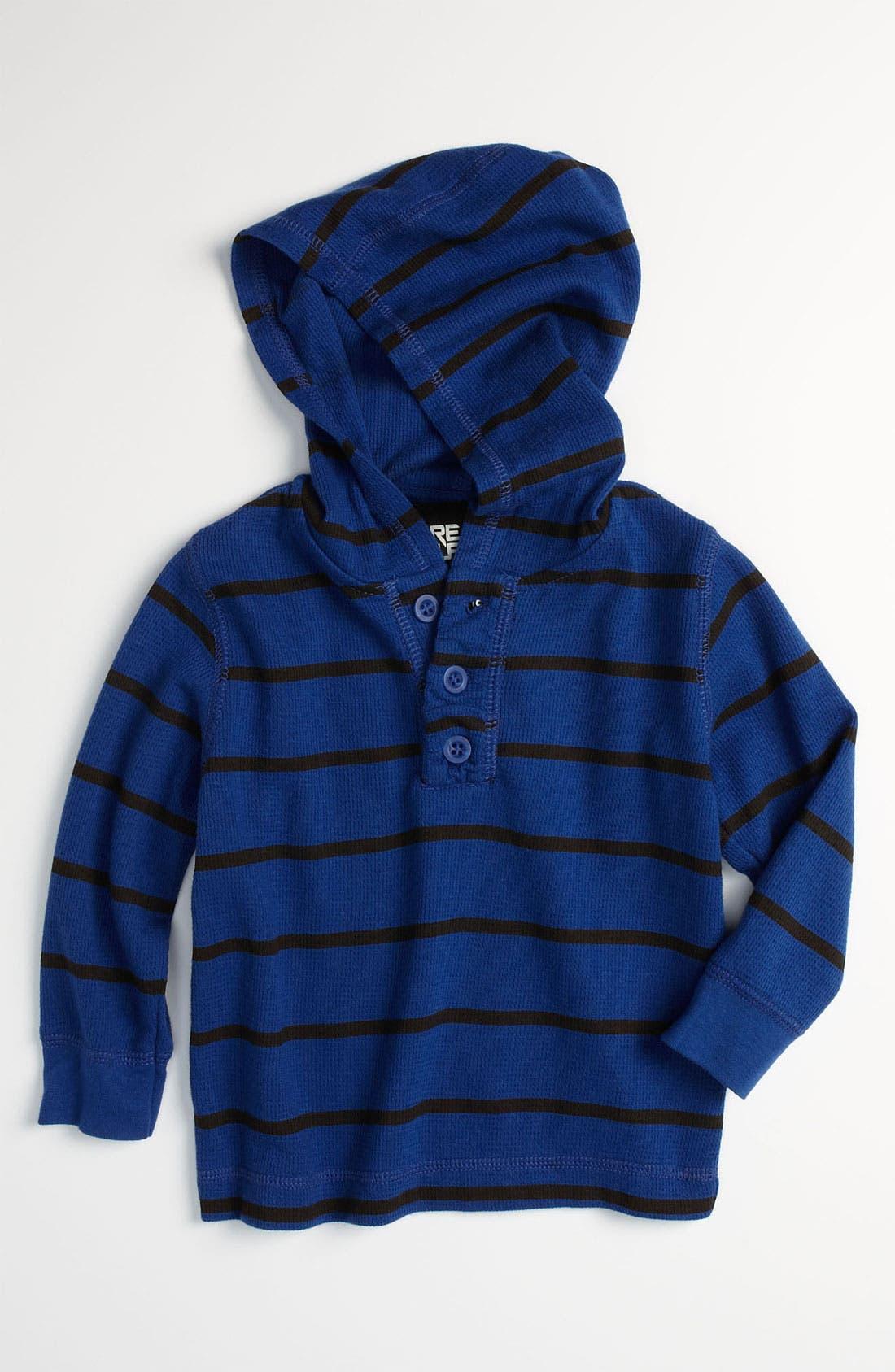 Alternate Image 1 Selected - Pure Stuff 'Tristen' Thermal Hoodie (Toddler)
