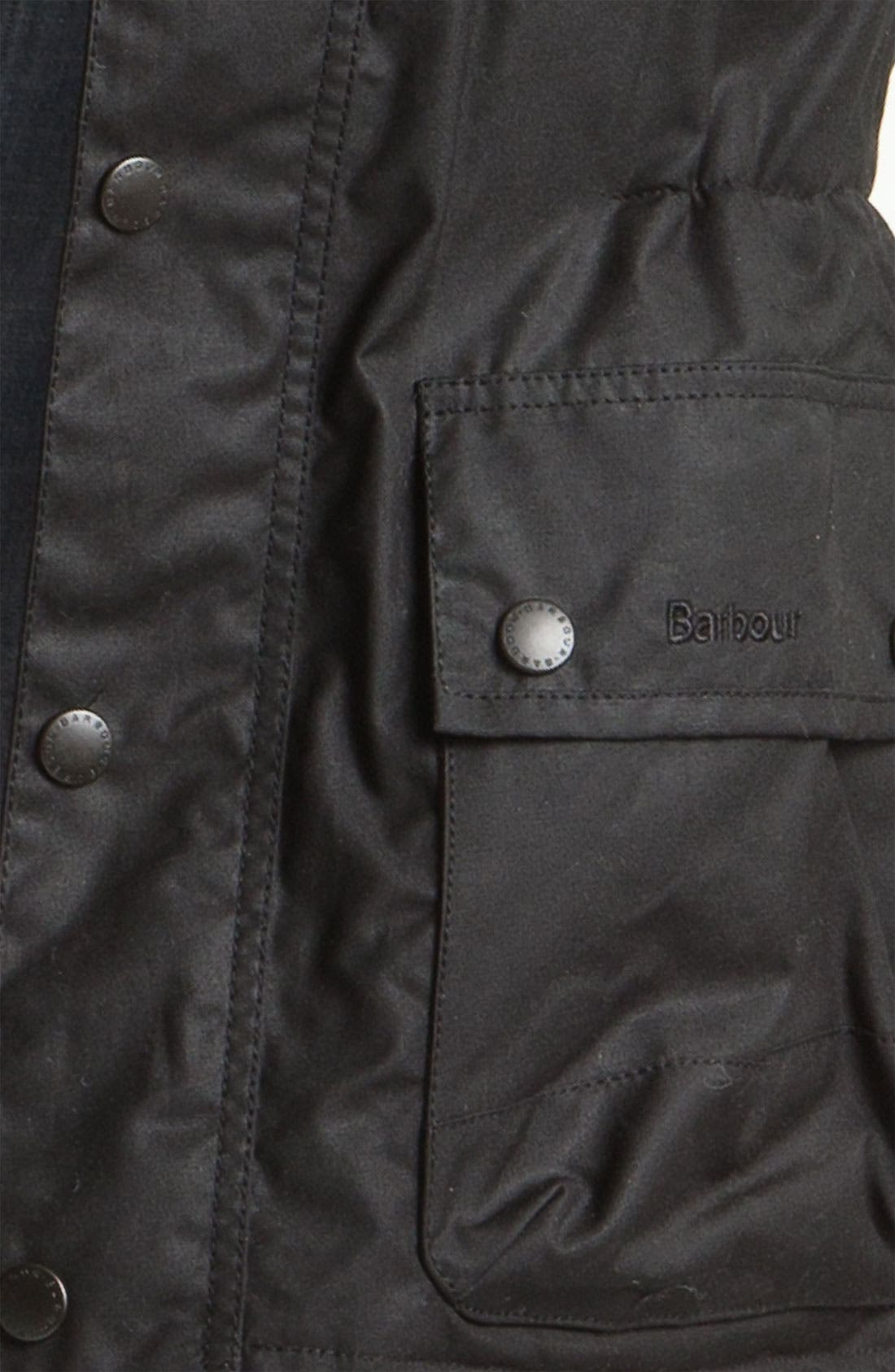 Alternate Image 3  - Barbour 'Surtees' Wax Cotton Jacket