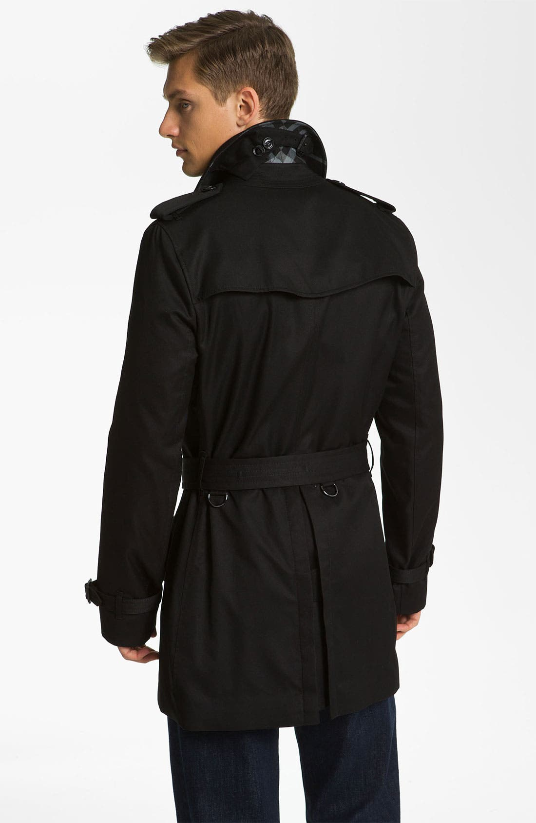 Alternate Image 2  - Burberry London 'Britton' Single Breasted Trench Coat